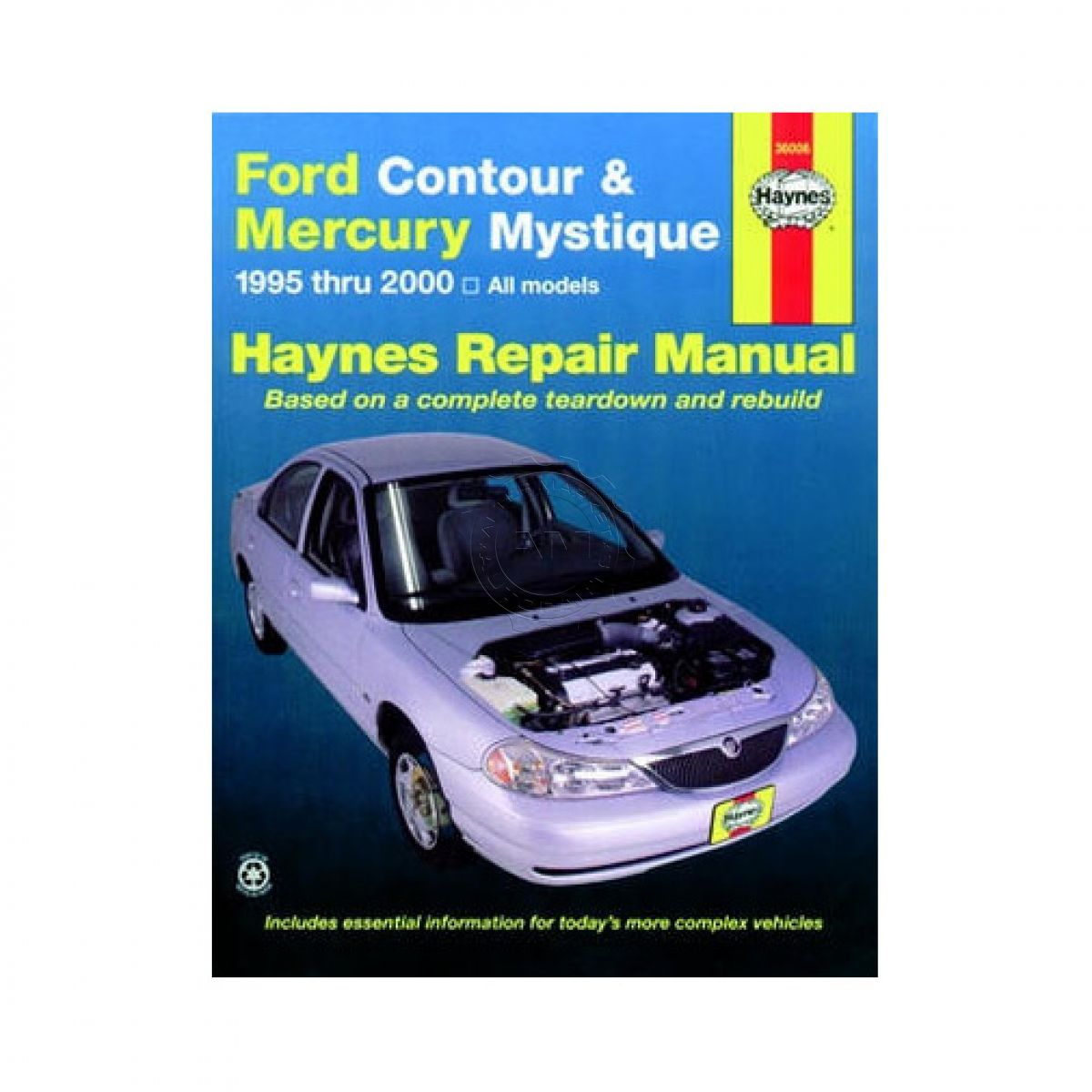 Repair Manual for 95 96 97-00 Ford Contour Mercury Mystique
