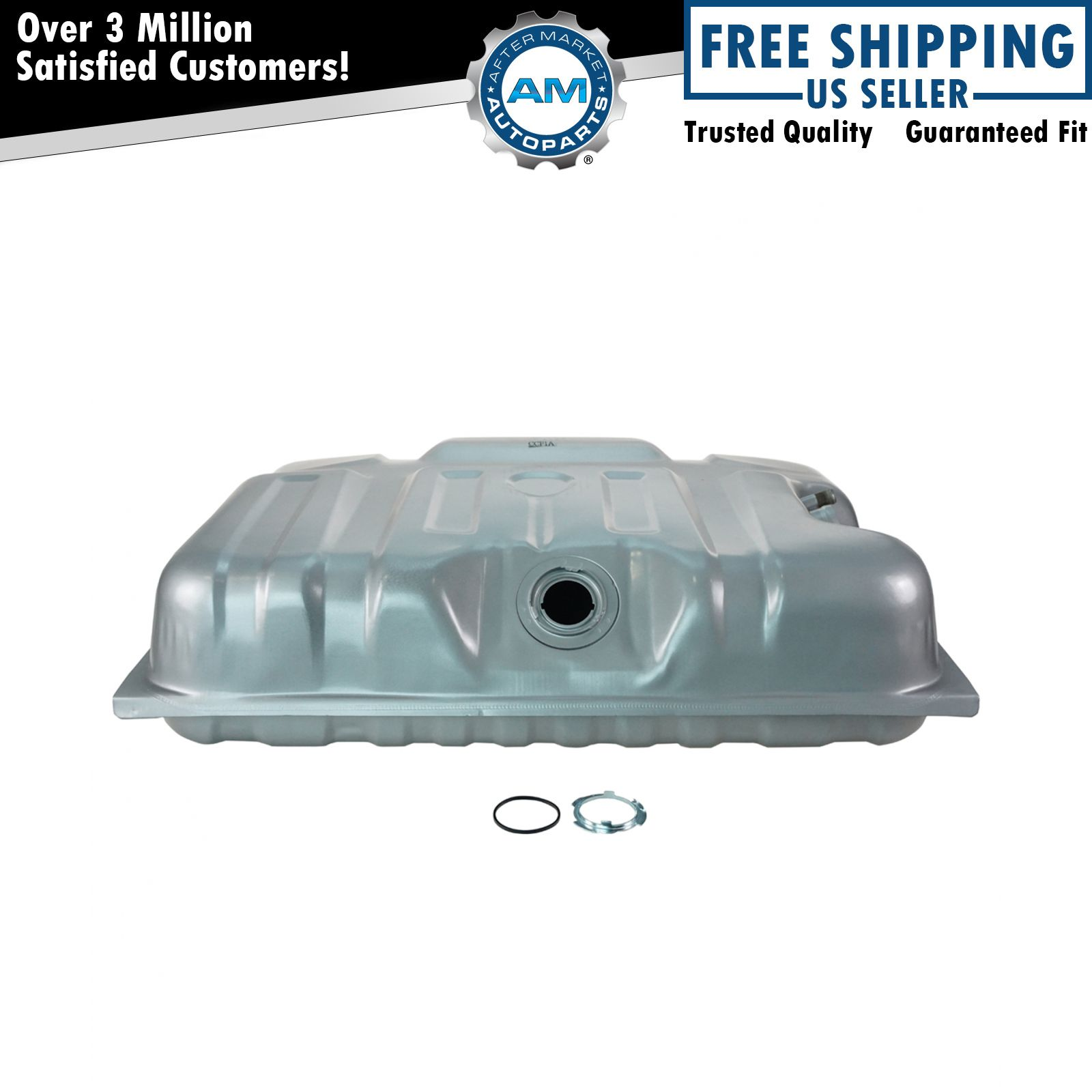 Gas Fuel Tank 19 Gallon Rear Mount for 73-78 Ford F100 F150 F250 F350