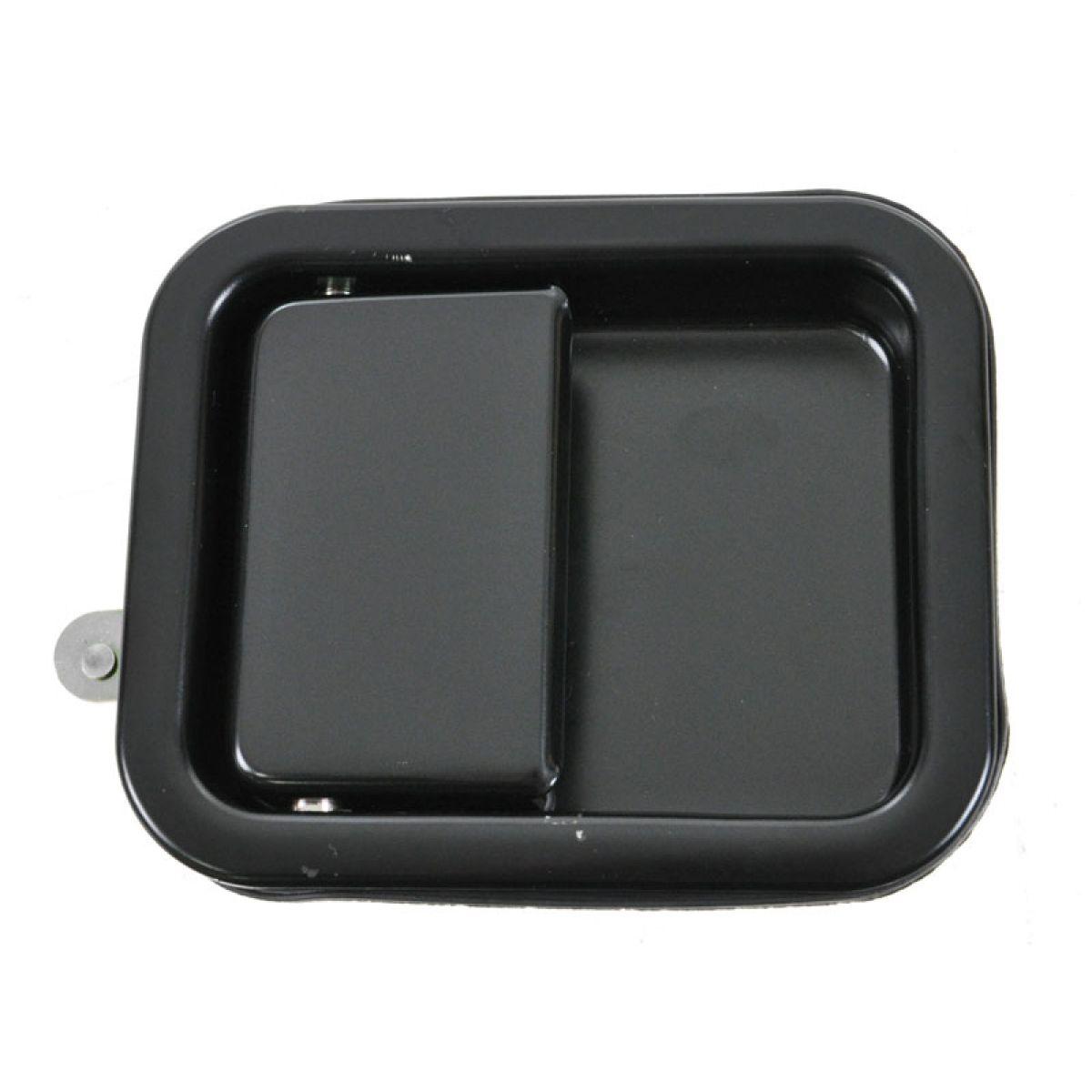 Passenger Right Side Satin Black Outside Exterior Door Handle for Wrangler CJ7