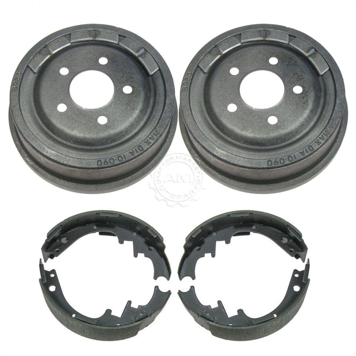 Rear Brake Drum & Shoe Pair Set for Mazda Navajo Ford Truck   eBay
