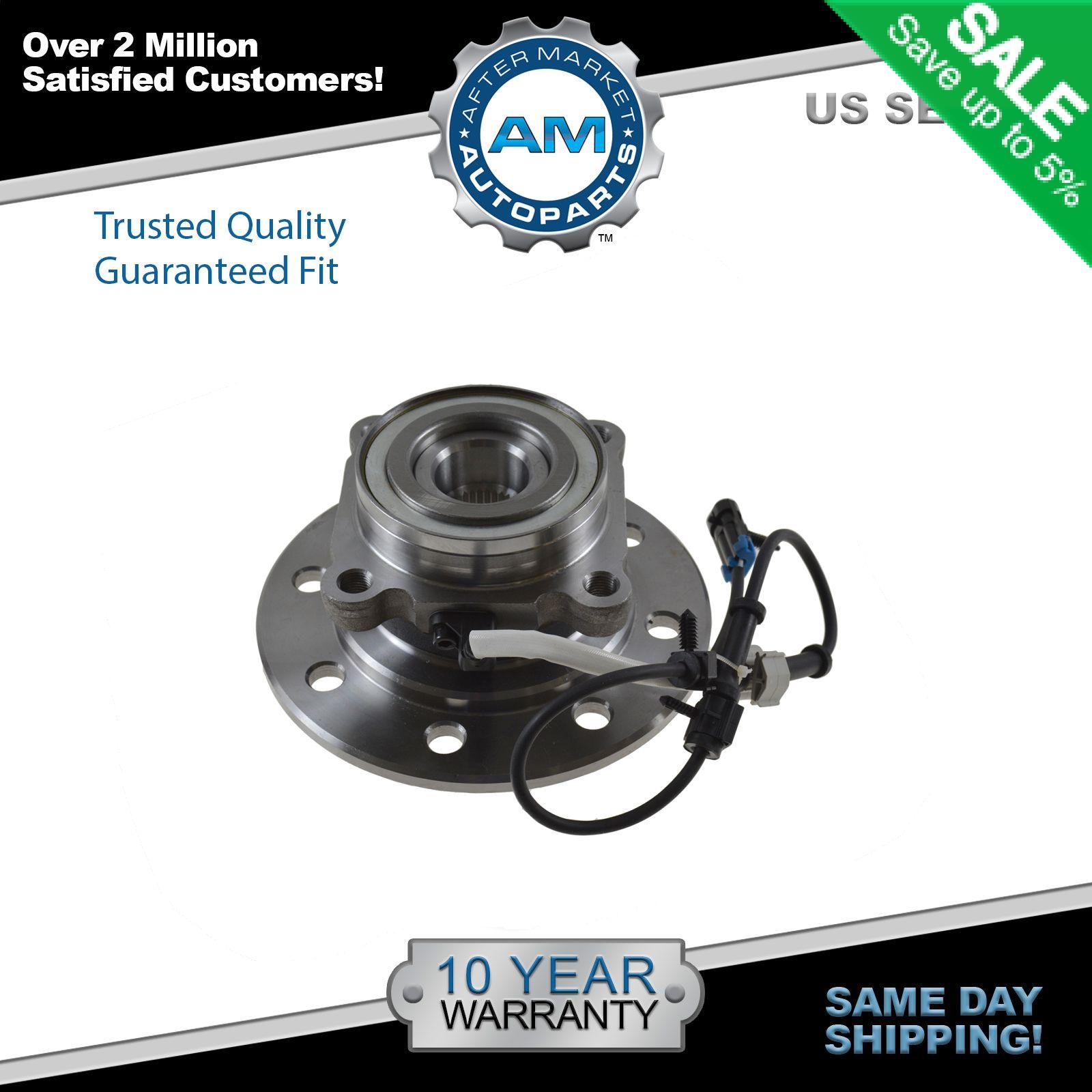 Front Wheel Hub /& Bearing Assembly for Chevrolet /& GMC K1500 K2500 K3500 Trucks
