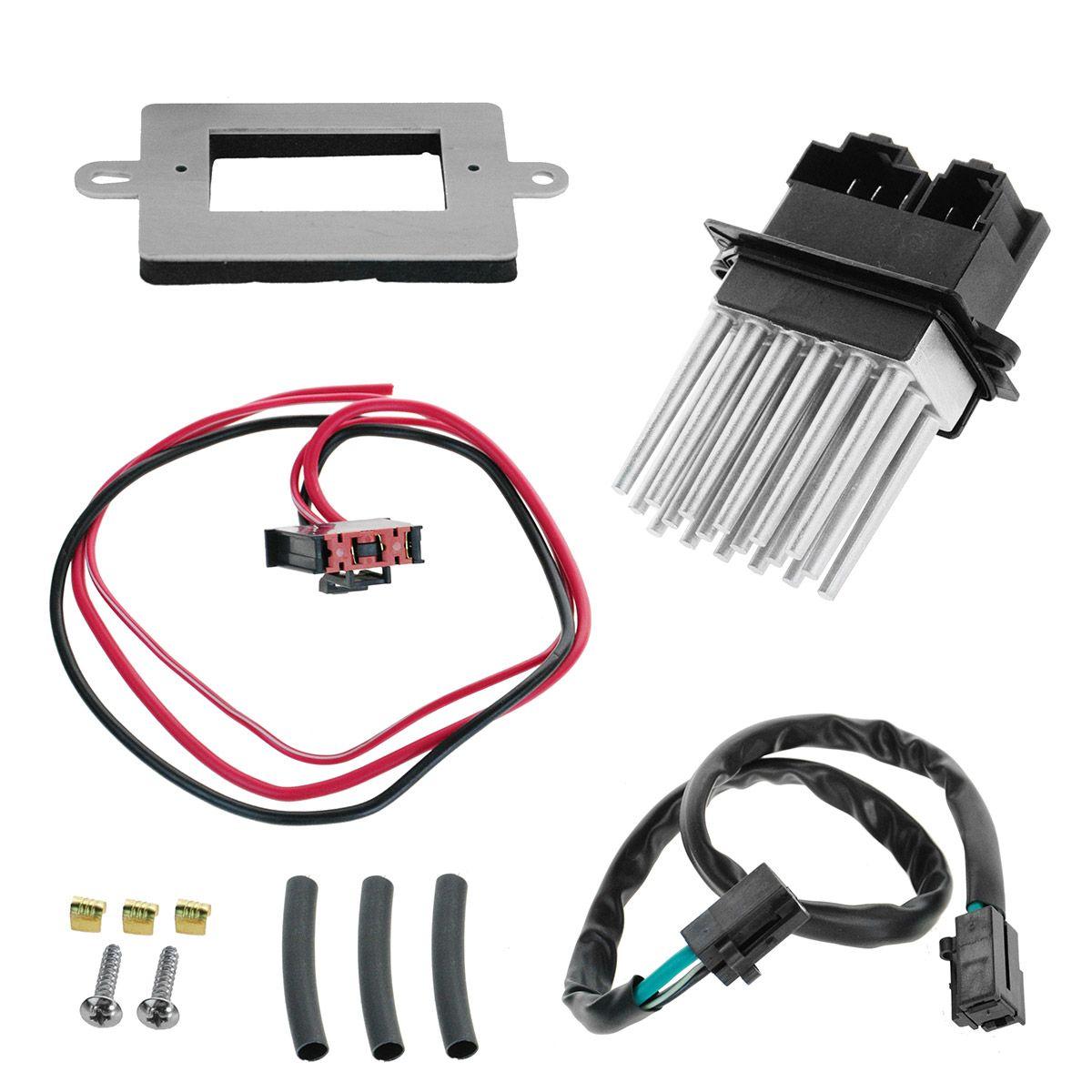 Heater Blower Motor Resistor W Atc For 99 04 Jeep Cherokee Grand Wiring