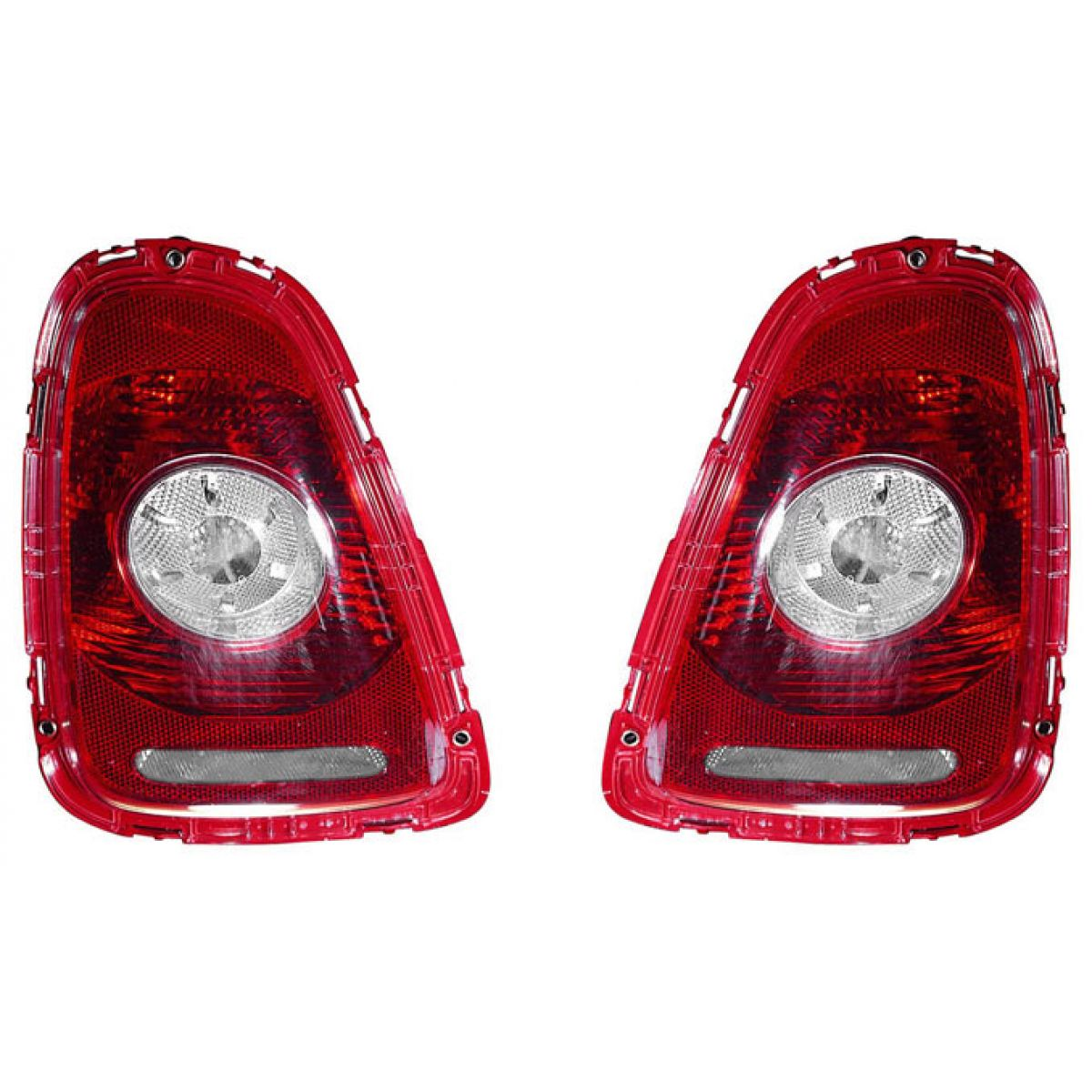 Left CAPA 166-199 New Tail Lamp Lens//Housing Driver Side Rear