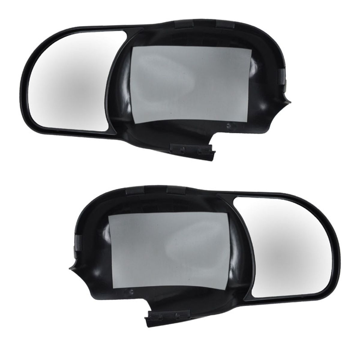 Clip On Mirror Extension Pair Set For Ford F150 F250 Light