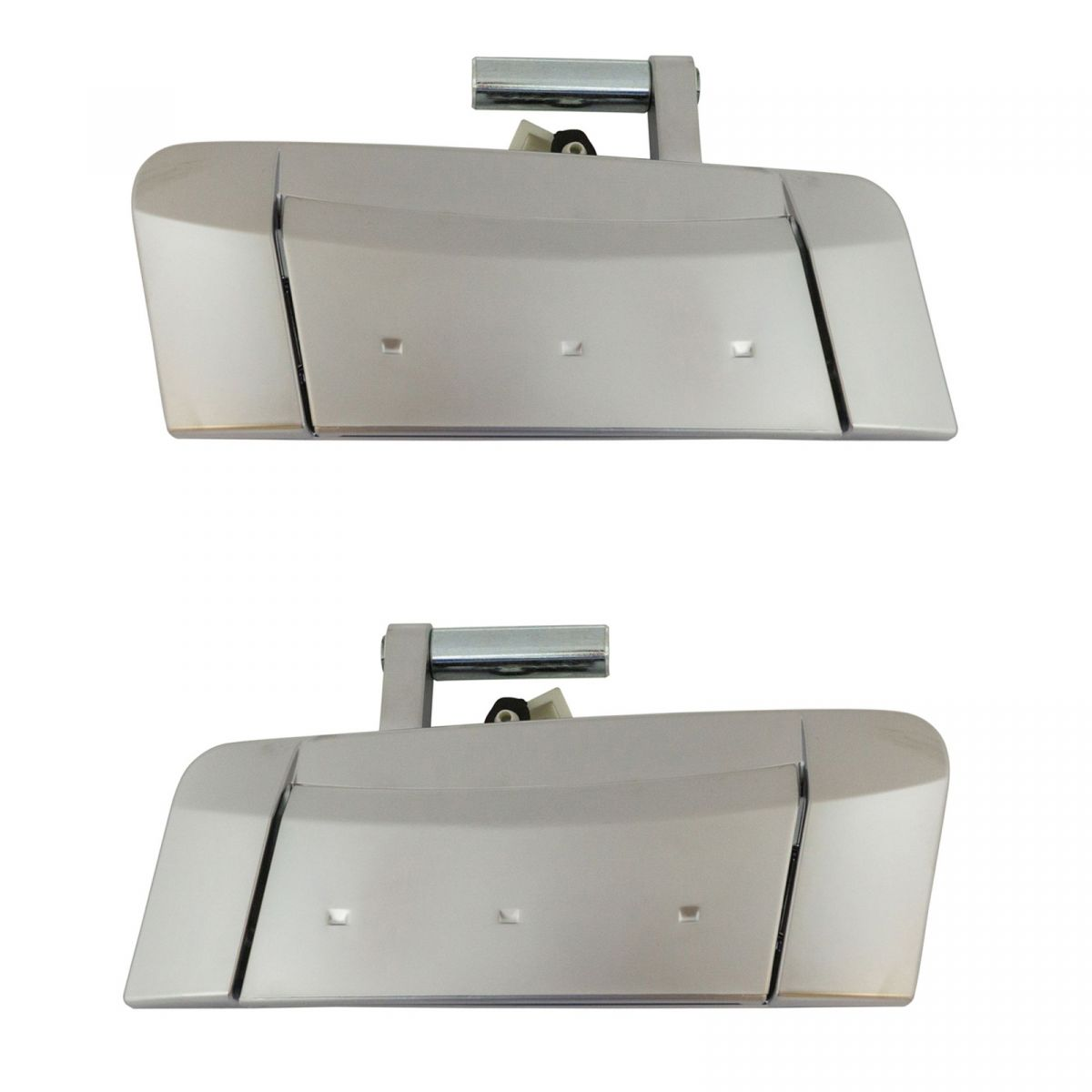 Door Handle Silver Outer Outside Exterior Driver Passenger Pair For Nissan 350z Ebay