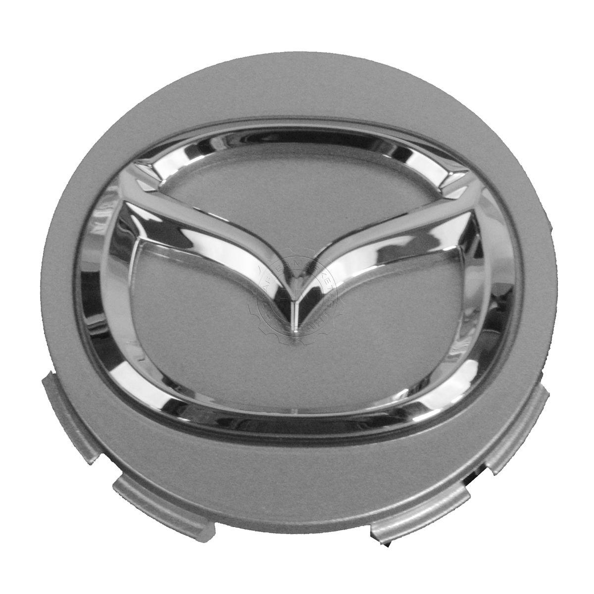 "New Oem 2004 2012 Mazda 5 6 Cx 7 Mpv Mx 5 Miata Left Fog: OEM G22C-37-190A Wheel Rim Center Cap Chrome ""Mazda"" Logo"