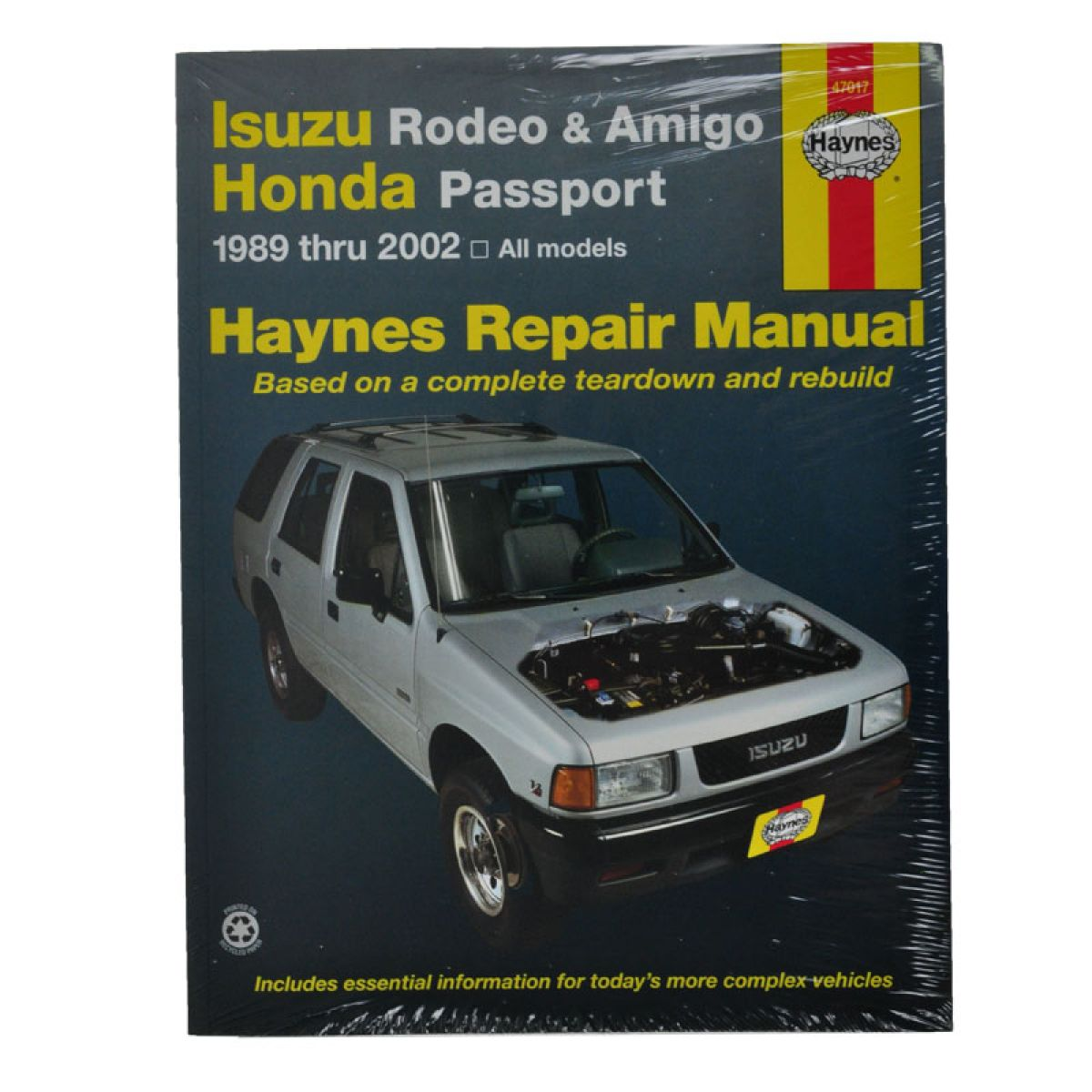 Haynes Repair Manual for Amigo Passport Rodeo 89 90 91-02