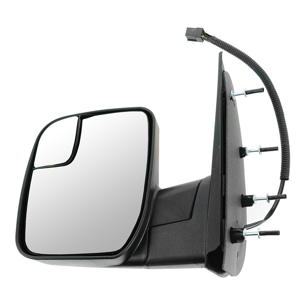 US Made Door Mirror Glass Replacement Driver Side For Mazda 3 10-12