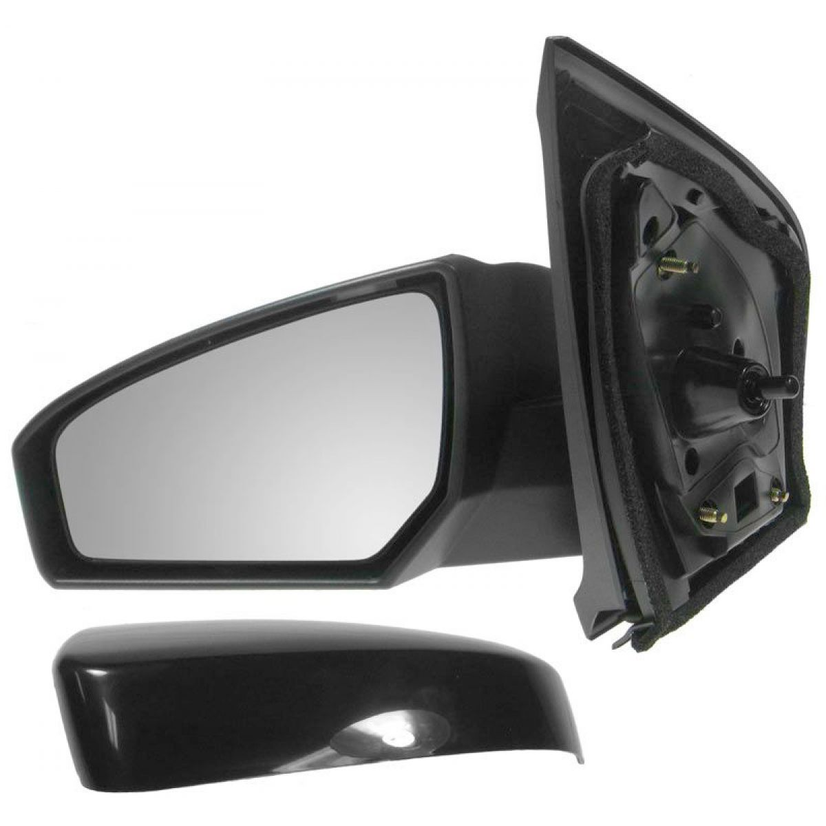 New Mirror Side View Manual Driver Left LH fits 07-12 Nissan Sentra