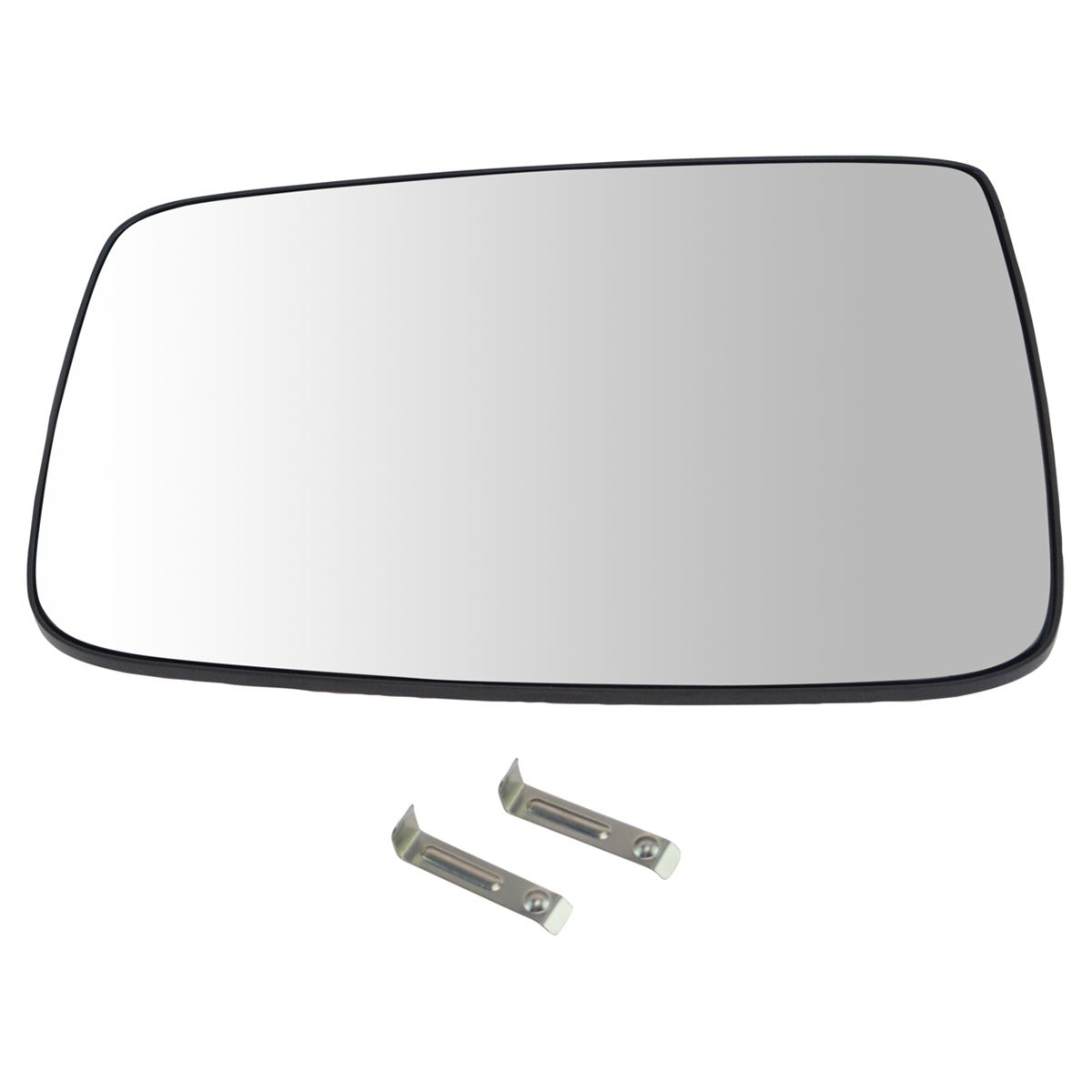 NEW Mirror Glass WITH BACKING 05-09 DODGE RAM TRUCK Driver Left Side