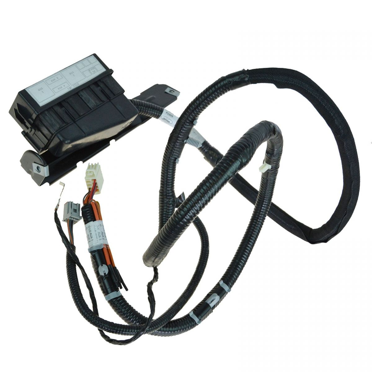 AM 2448995008 oem in dash upfitter switch wiring harness & fuse block for 05 07 80 Ford Truck at cos-gaming.co