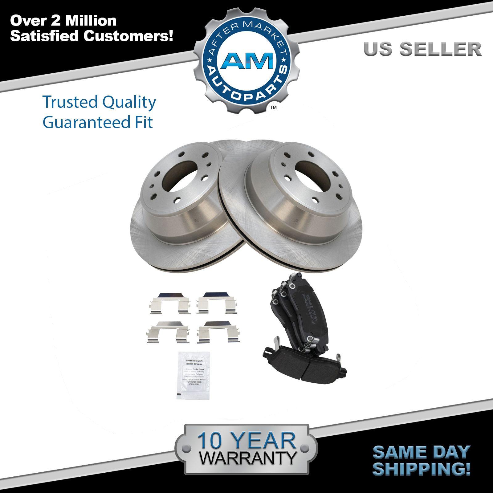 2005 2006 For GMC Envoy XL Rear Semi Metallic Brake Pads