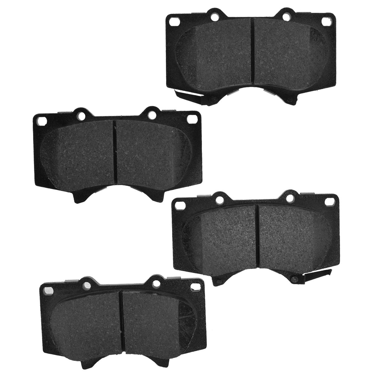 RAYBESTOS Brake Pads Disc Element 3 EHT976H Front Set Kit for Sequoia Tacoma