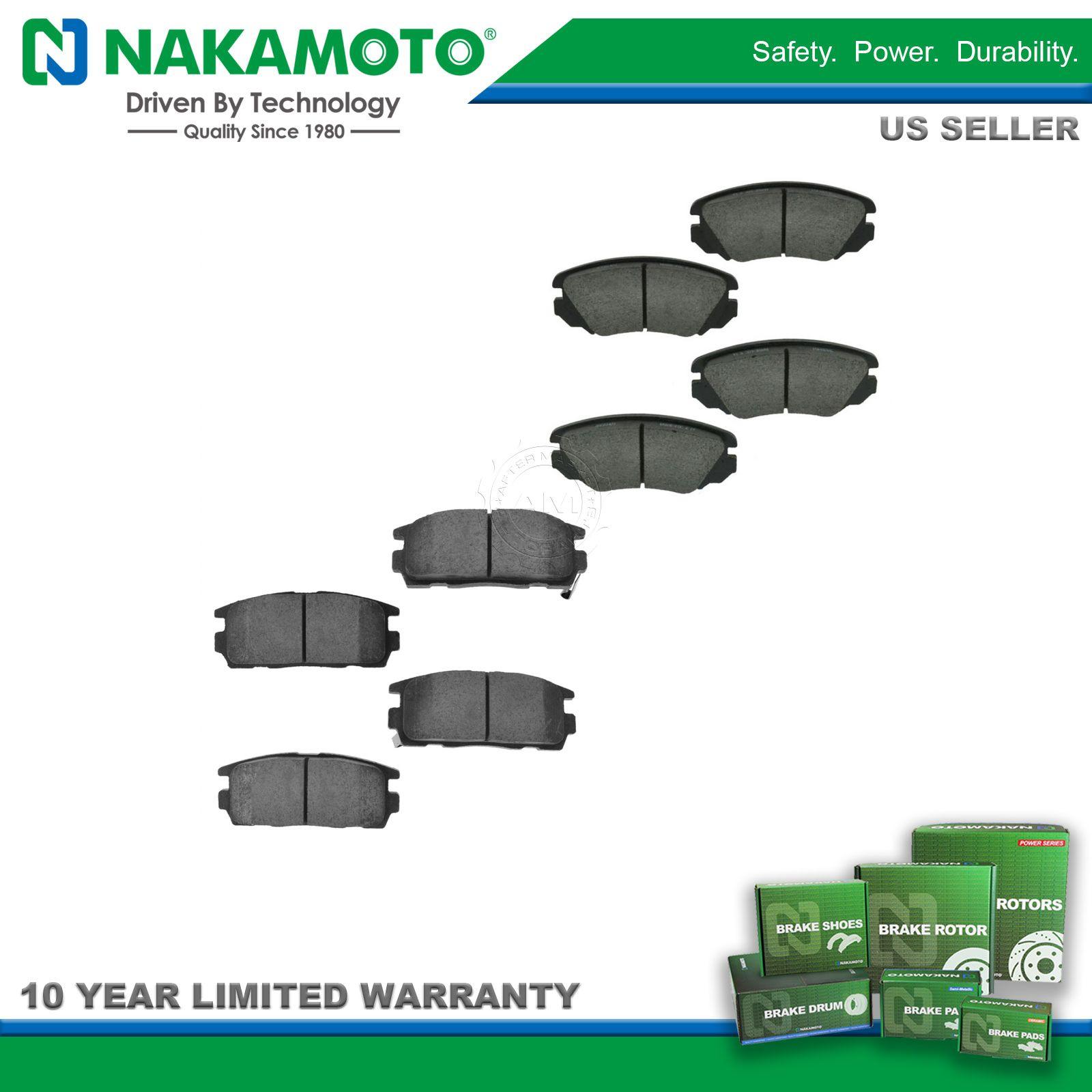 Nakamoto Ceramic Brake Pad Front Rear Kit for Buick Chevy Equinox ...