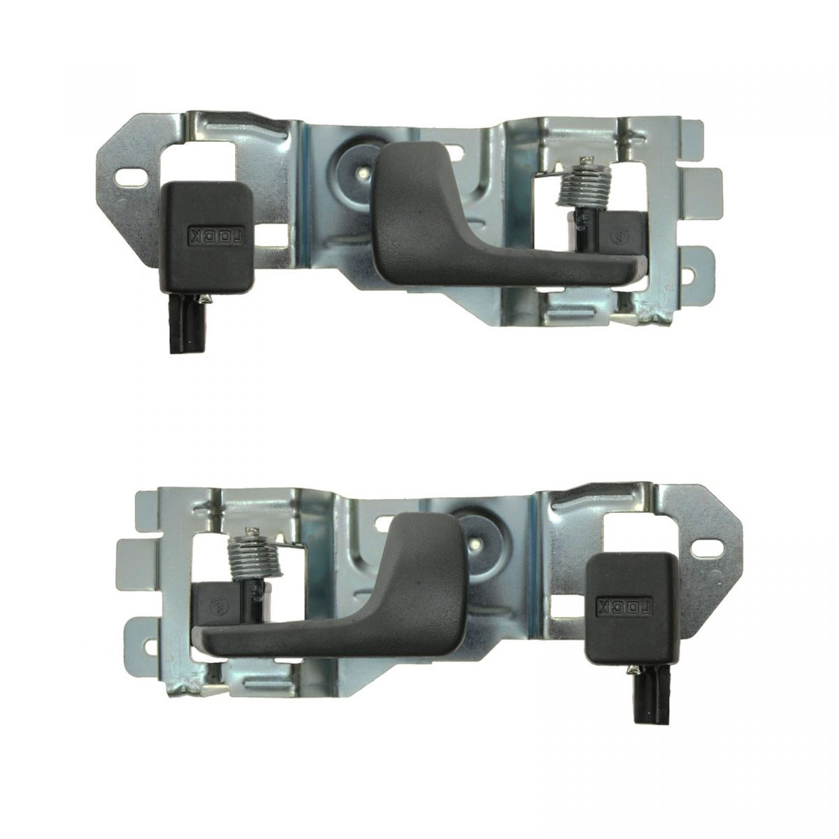 New Rear Outer Driver /& Passenger Side Door Handle Pair For 96-00 Honda Civic