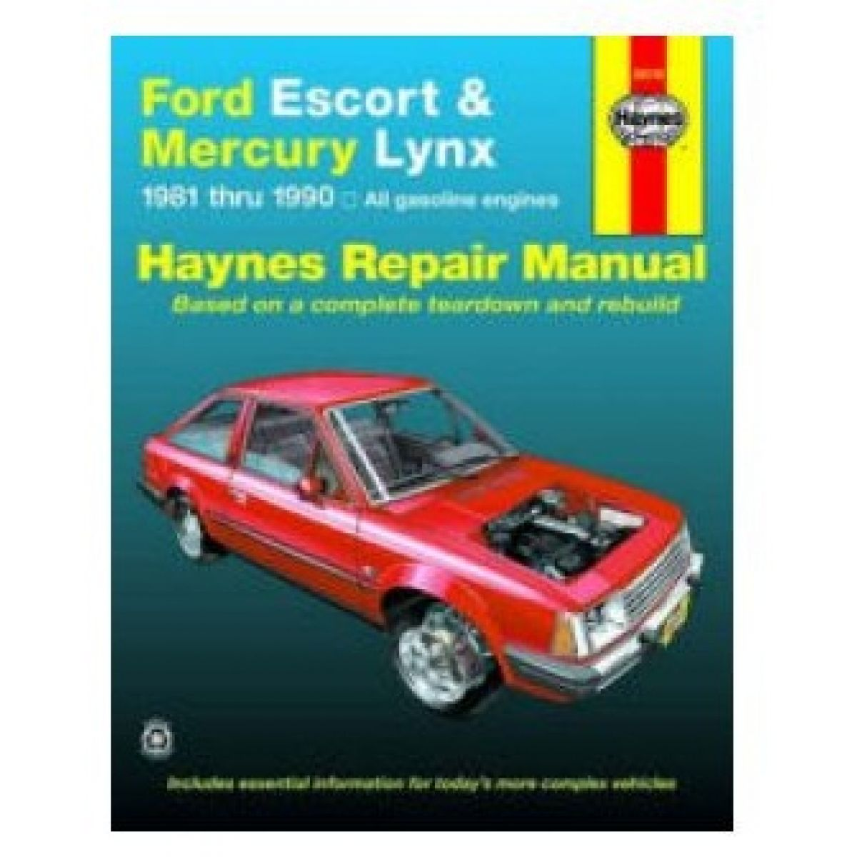 Haynes Repair Manual for 1981-1990 Ford Escort Mercury Lynx
