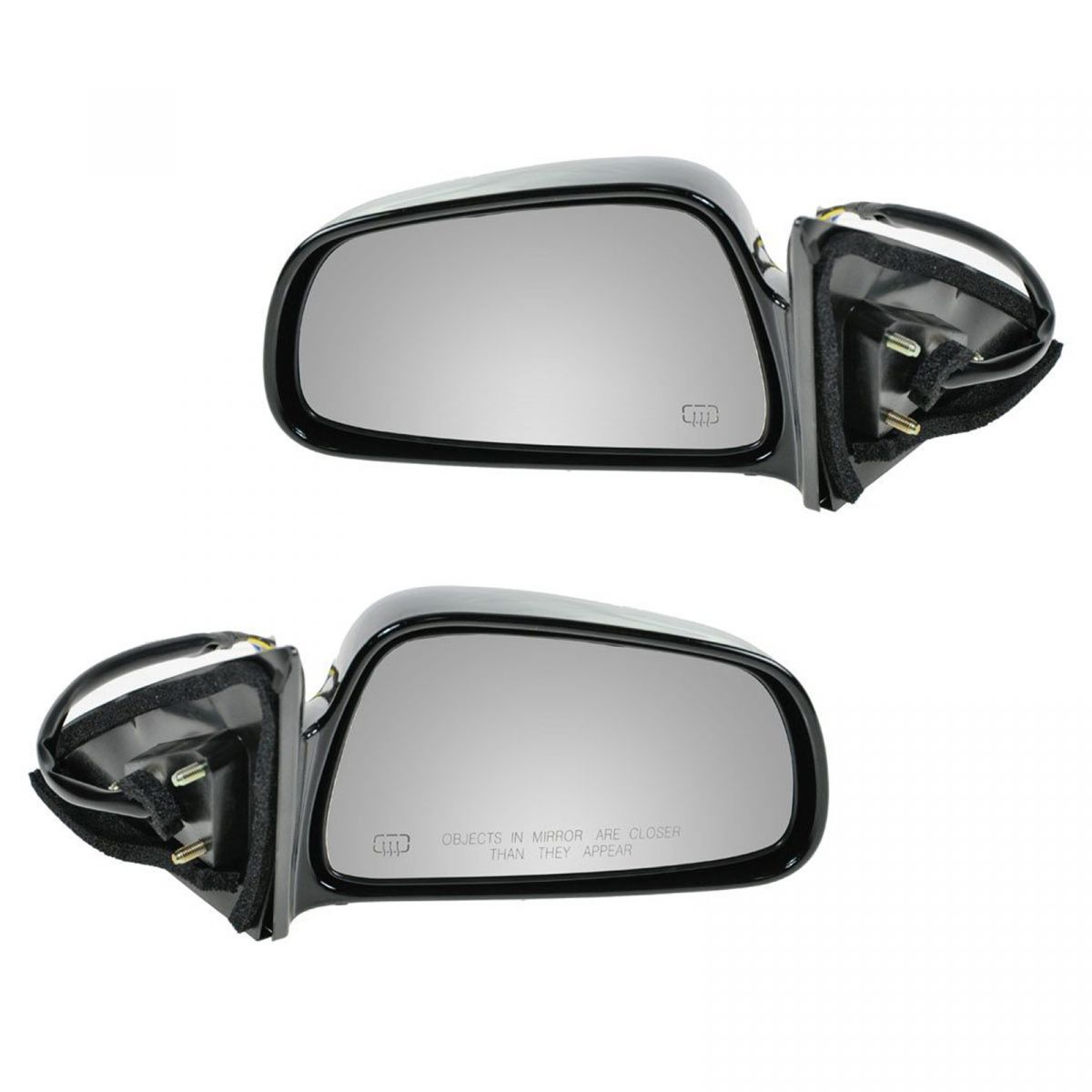 Mirror Power Heated Passenger Side Right RH for 99-03 Mitsubishi Galant