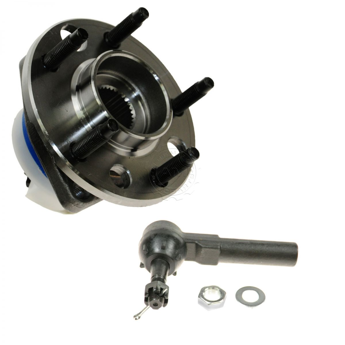 2003 Buick Century Wheel Bearing: Wheel Hub & Outer Tie Rod Kit Front LH Or RH For Buick