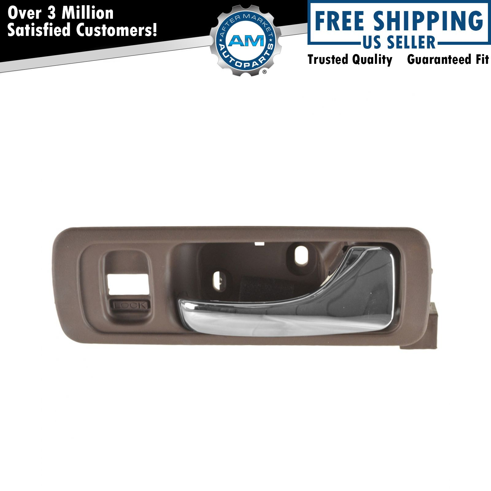Acura 3.5 RL 96-04 L R Front Inside Interior Inner Door Handle Med Taupe Fits