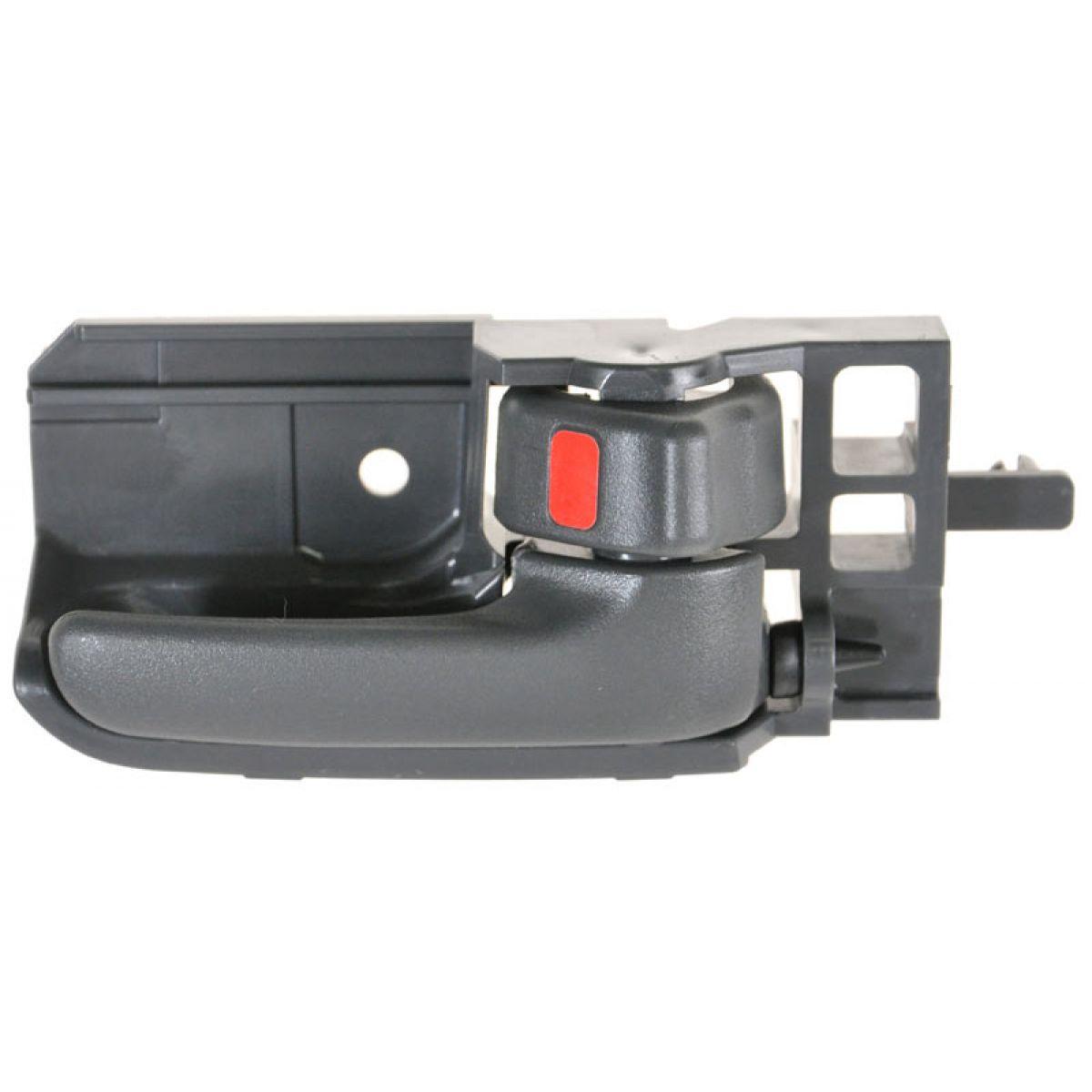 Dark Gray Interior Inner Inside Door Handle Passenger RH Right for 03-08 Corolla