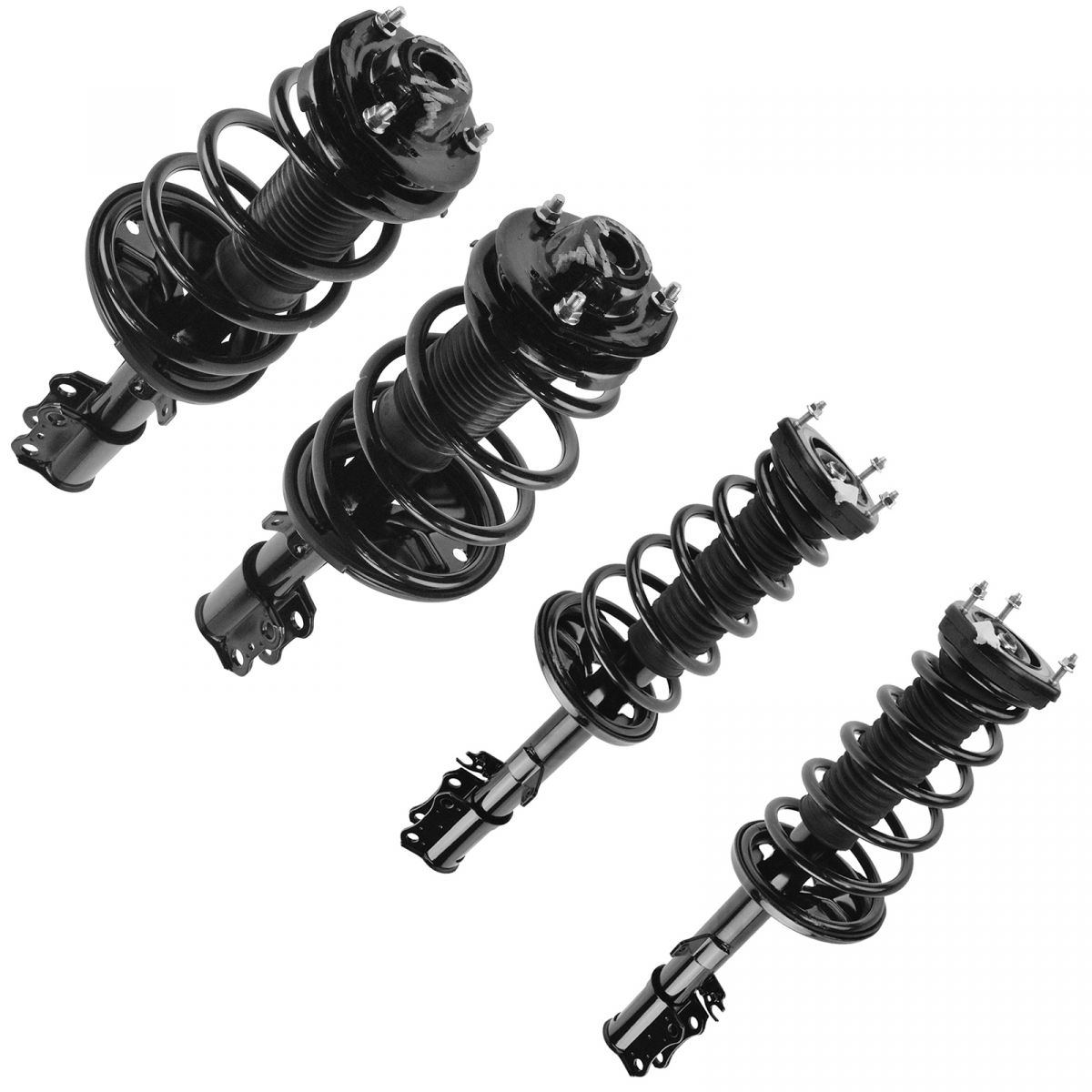 Complete Strut /& Spring Assembly Pair Set of 2 LH /& RH Rear for RX300 FWD 2WD