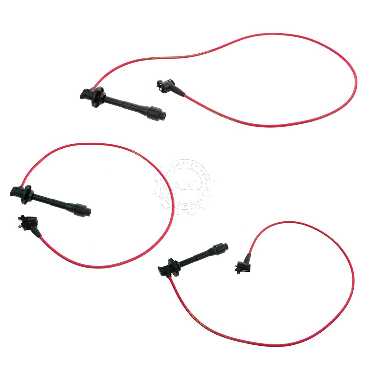 Ignition Spark Plug Wire Set for 4Runner T100 Tacoma Tundra Pickup on 1996 4runner wiring diagram, home wiring diagram, 2000 4runner thermostat, 2000 4runner distributor, 1995 4runner wiring diagram, toyota wiring diagram, 2000 4runner motor, 2000 4runner exhaust, 2000 4runner engine swap, 2000 4runner firing order, 2000 4runner frame, 2000 4runner dash removal, 2000 4runner starter, 2000 4runner rear suspension, 1998 4runner wiring diagram, 2000 4runner maintenance schedule, 2000 4runner radiator, 1990 4runner wiring diagram, 2000 4runner schematic, 2000 4runner repair manual,