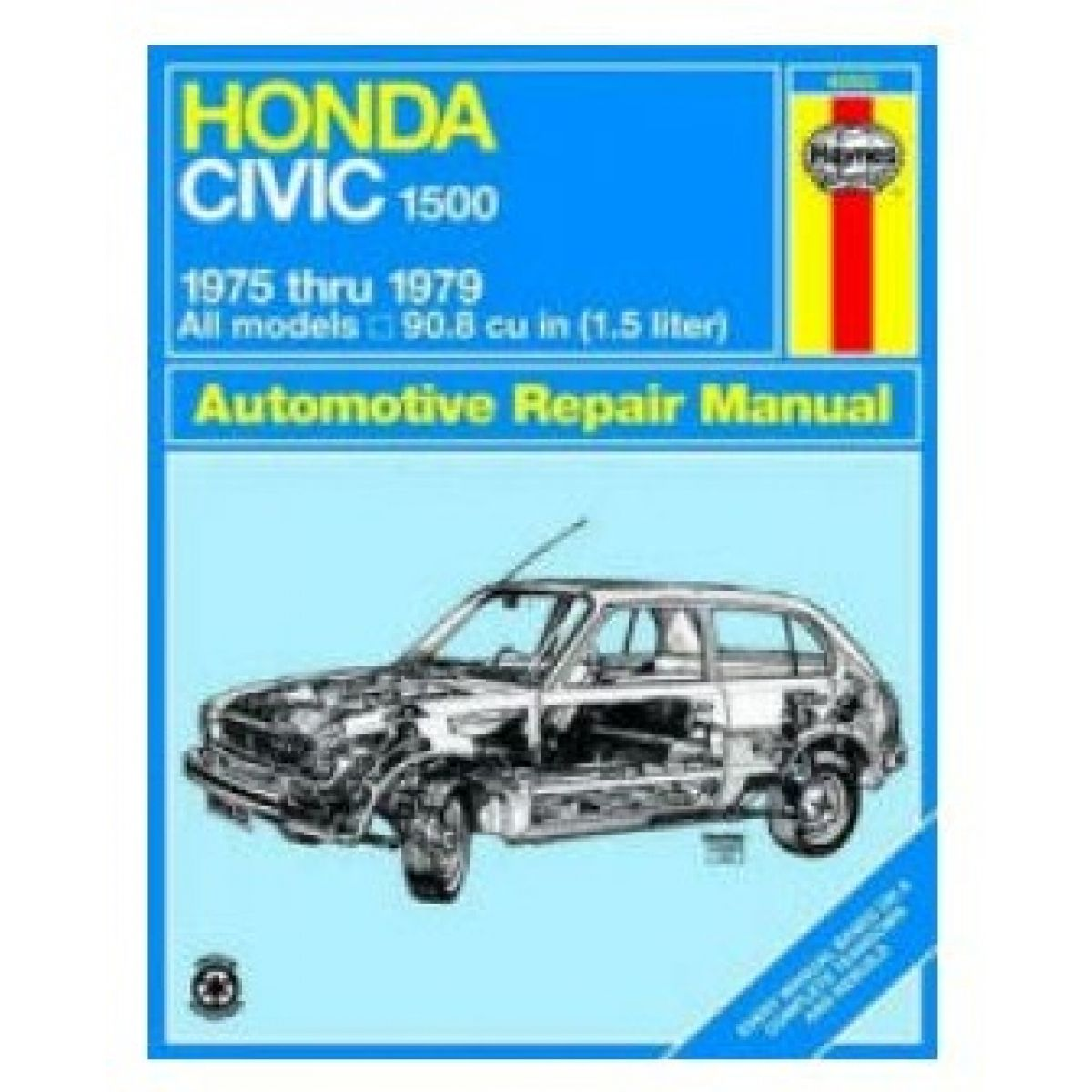 Haynes Repair Manual for 1975-1979 Honda Civic 1500