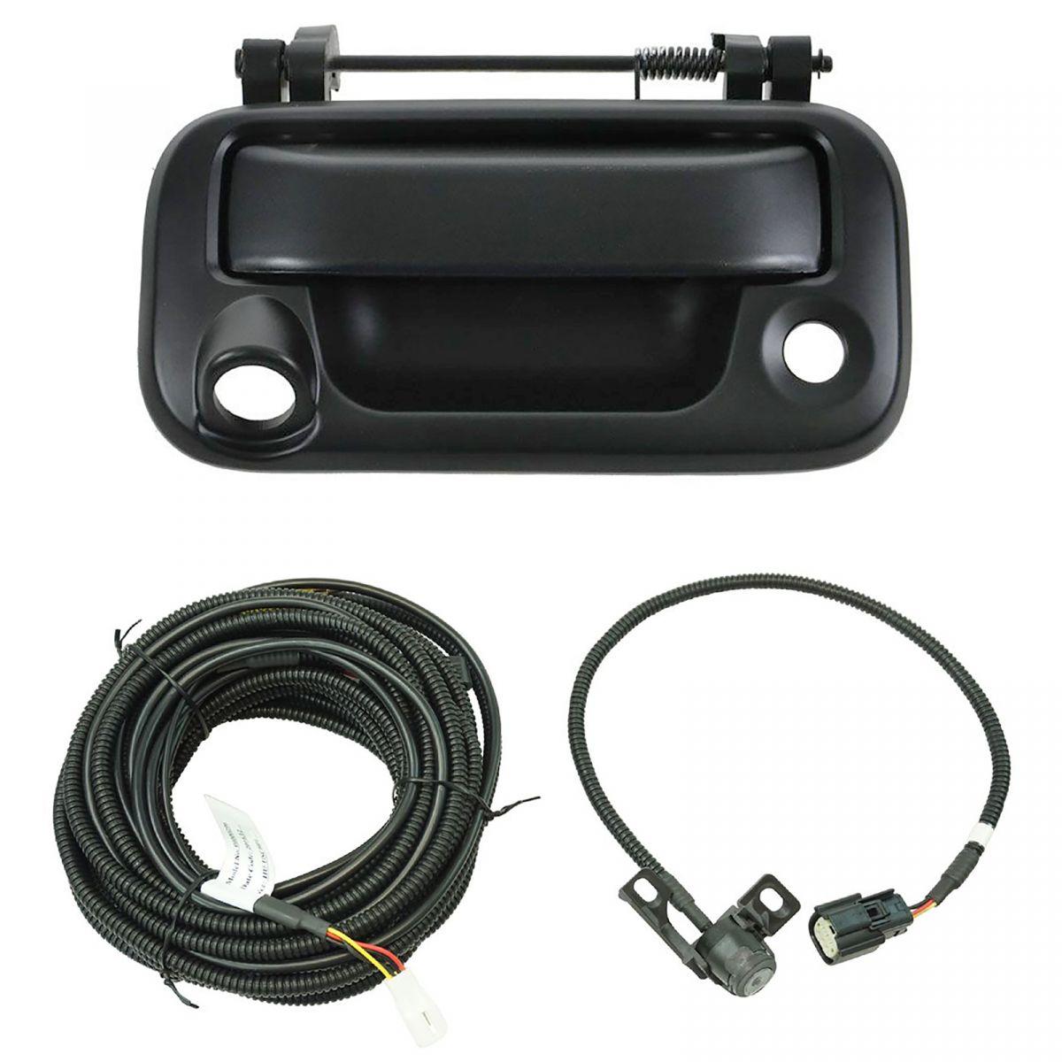 Rear View Camera Add On Kit w/ Wiring Harness & Tailgate ...