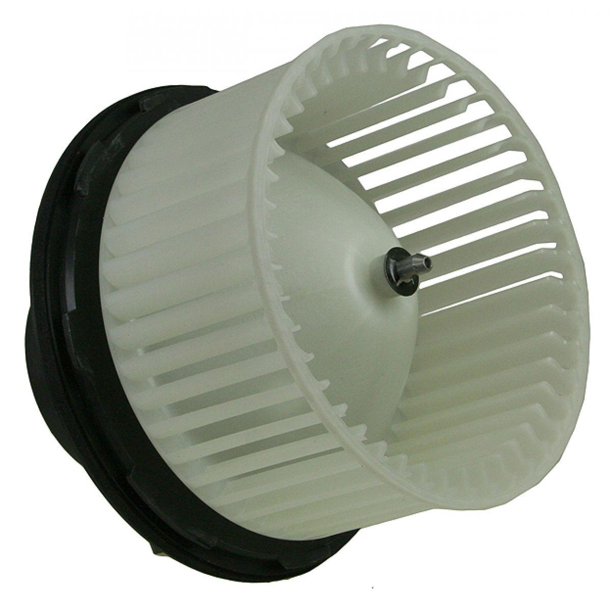 Heater ac blower motor w fan cage for silverado sierra for Car ac blower motor