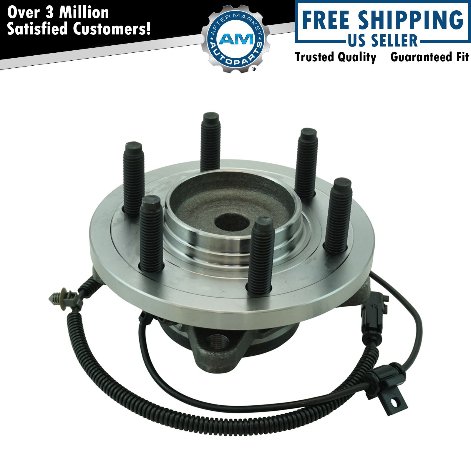 Rear Driver or Passenger Side Wheel Bearing /& Hub Assembly for Ford Expedition