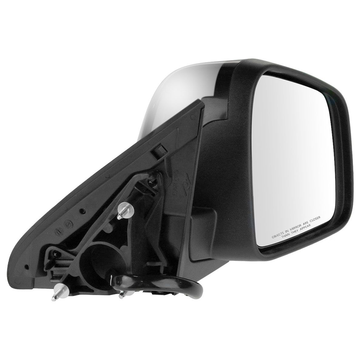 Mirror Power Heated Signal Blind Spot Chrome Driver LH for 11-13 Grand Cherokee