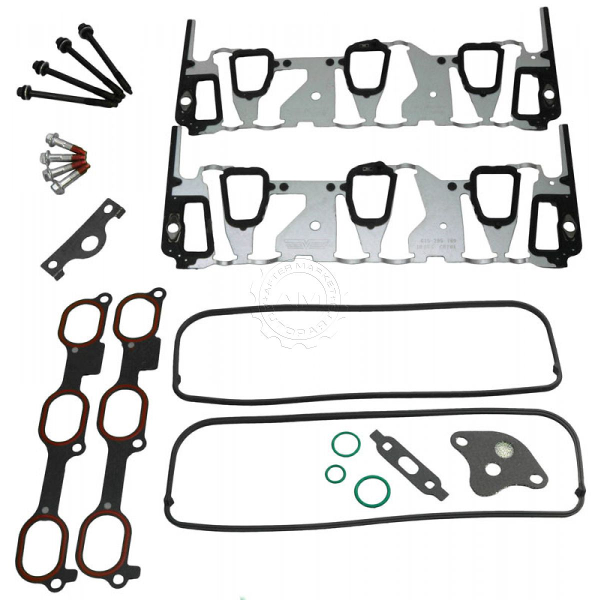 Dorman Intake Manifold Gasket Kit With Bolts For Pontiac Buick
