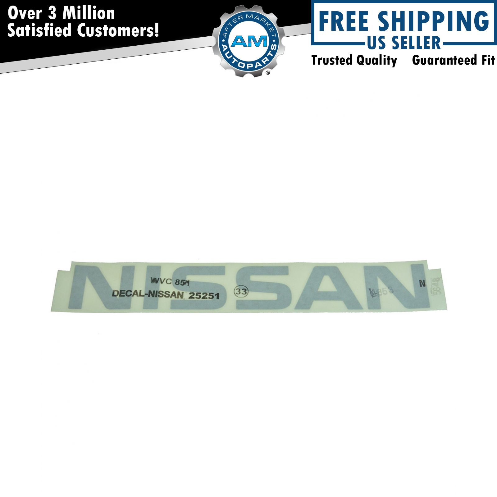 Genuine Nissan Decal 73160-EA00A