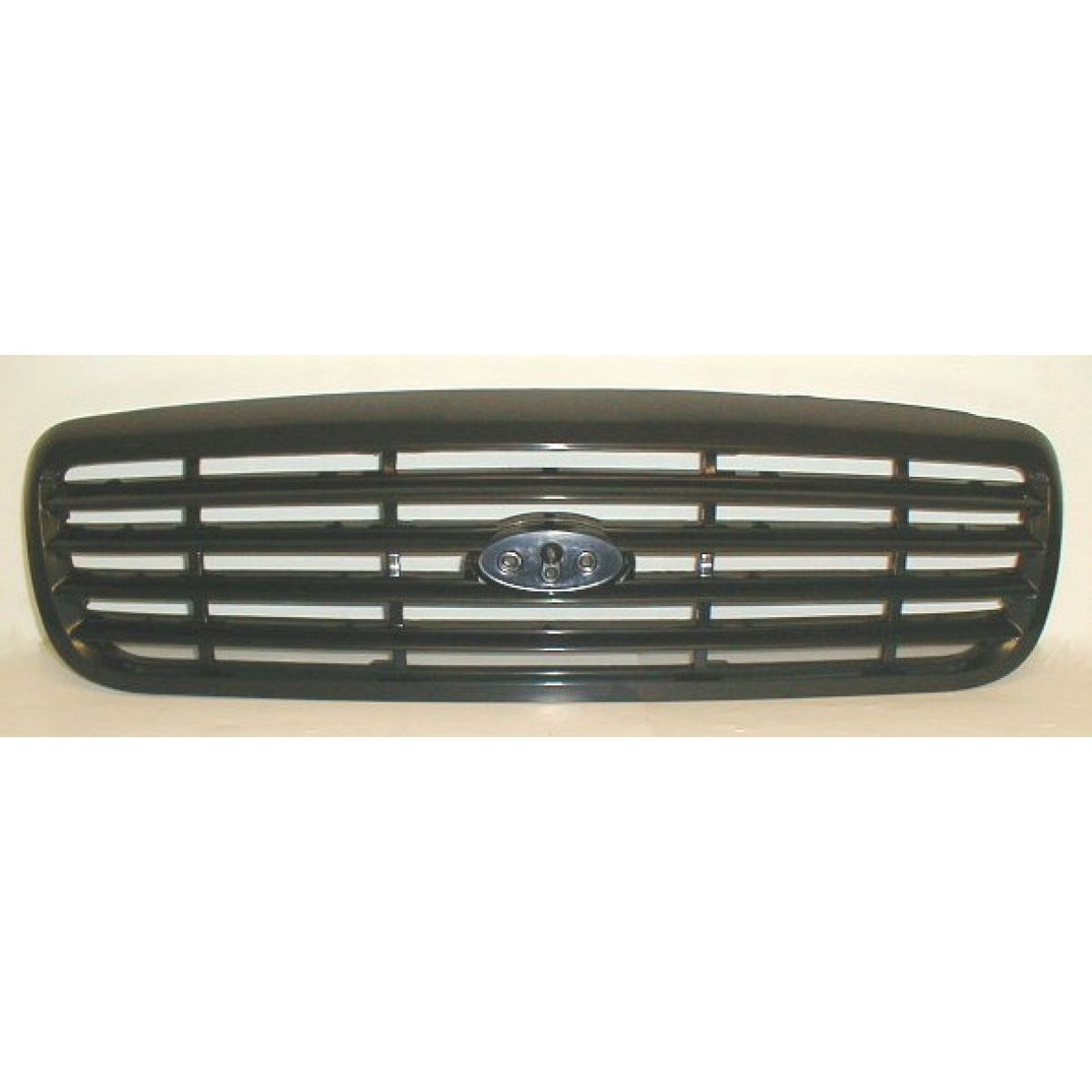 Grille grill black horizontal bar for 98 11 ford crown victoria