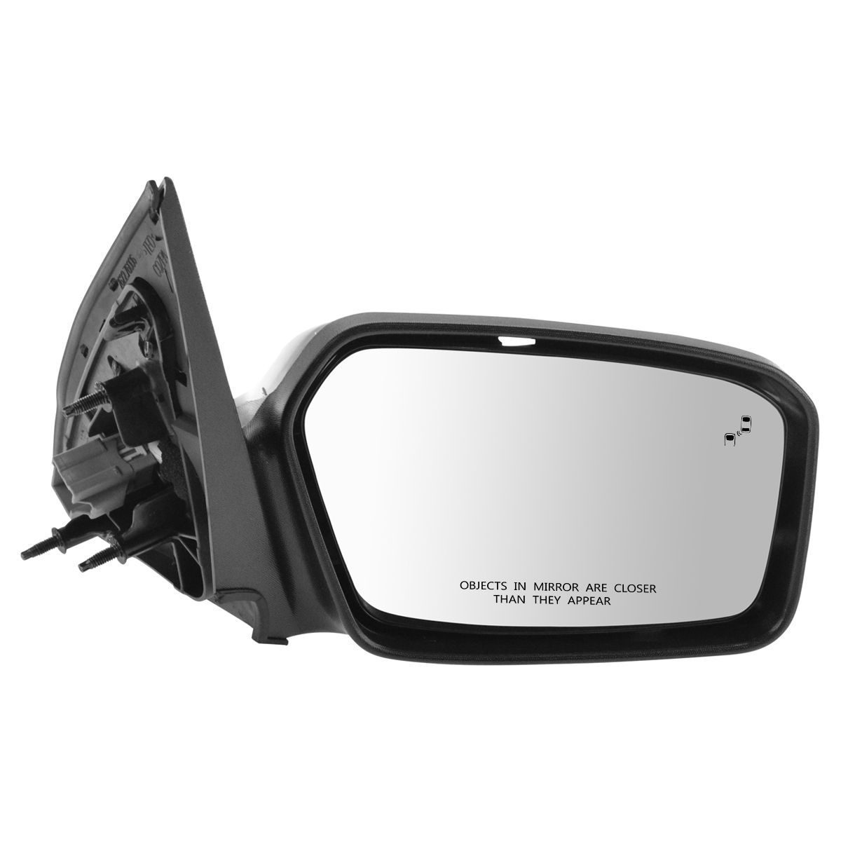 Exterior Power Heated Puddle Light w// Blind Spot /& Signal Mirror RH for Ford