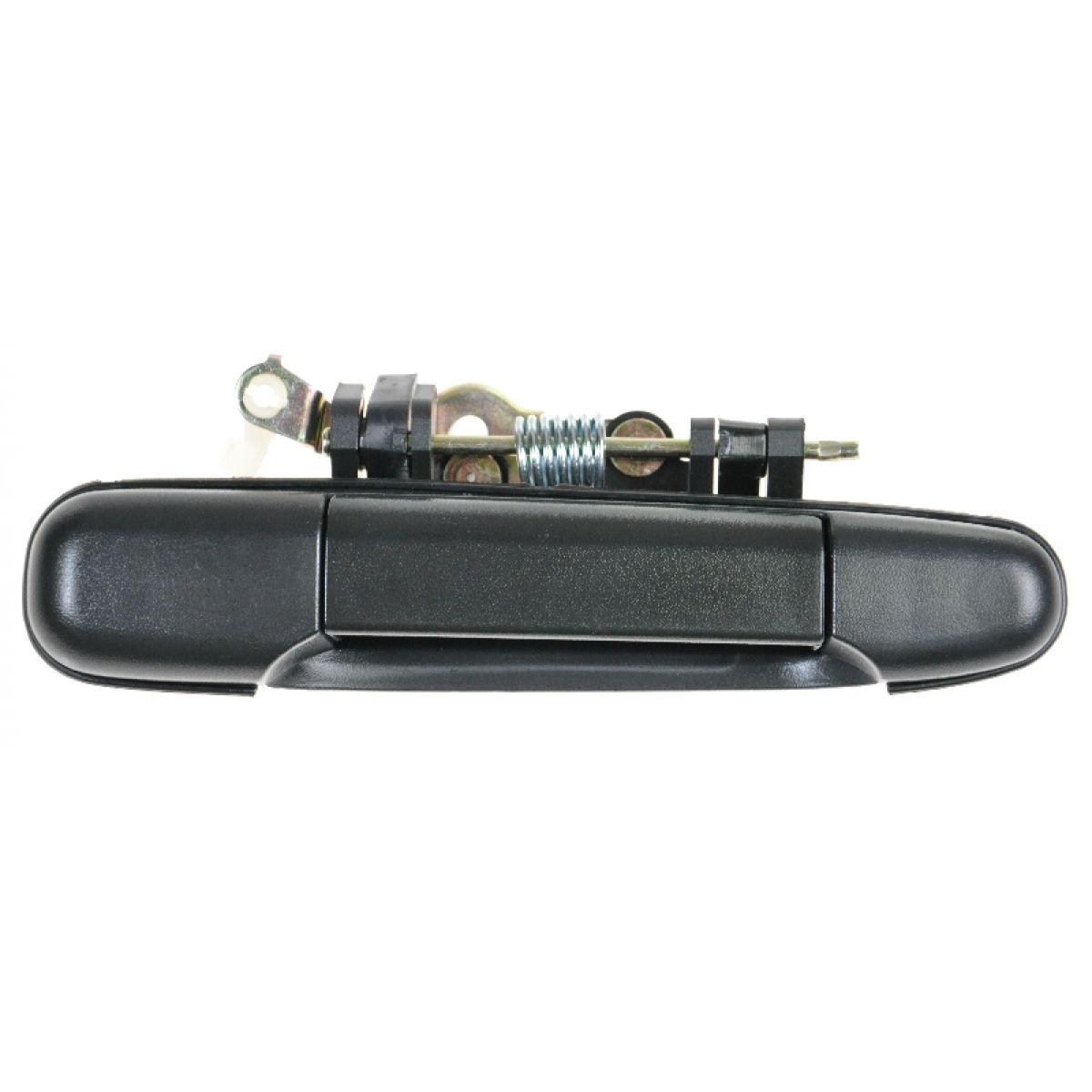 Exterior Outside Door Handle Textured Black Rear RR Passenger Side for 03-09 H2