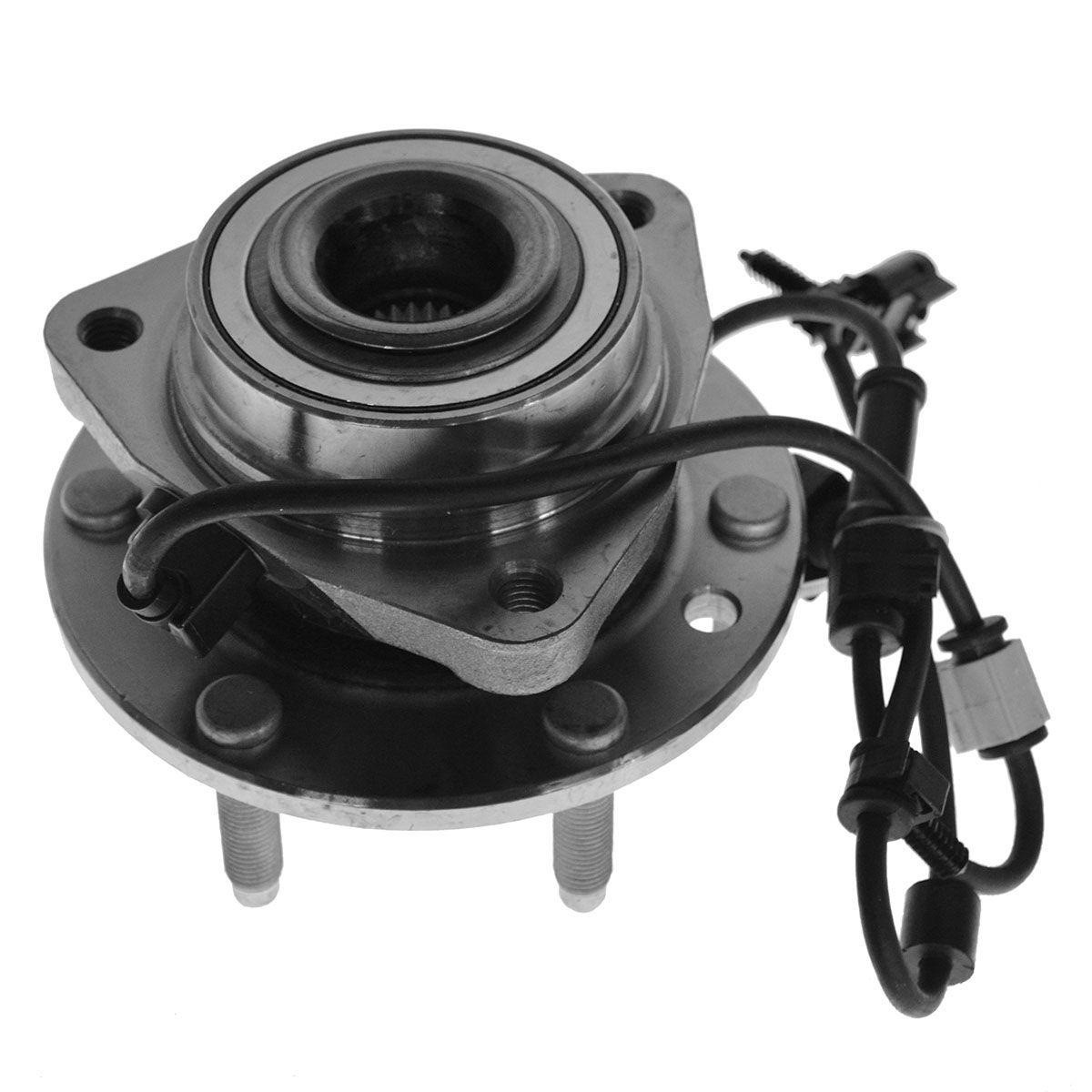 Chevy Trailblazer Envoy Bravada w ABS 6 Lug Front Wheel Hub Bearing Assembly
