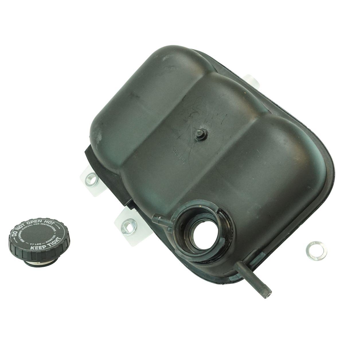 Pressurized Radiator Overflow Bottle Tank Reservoir w// Cap for Ram Truck