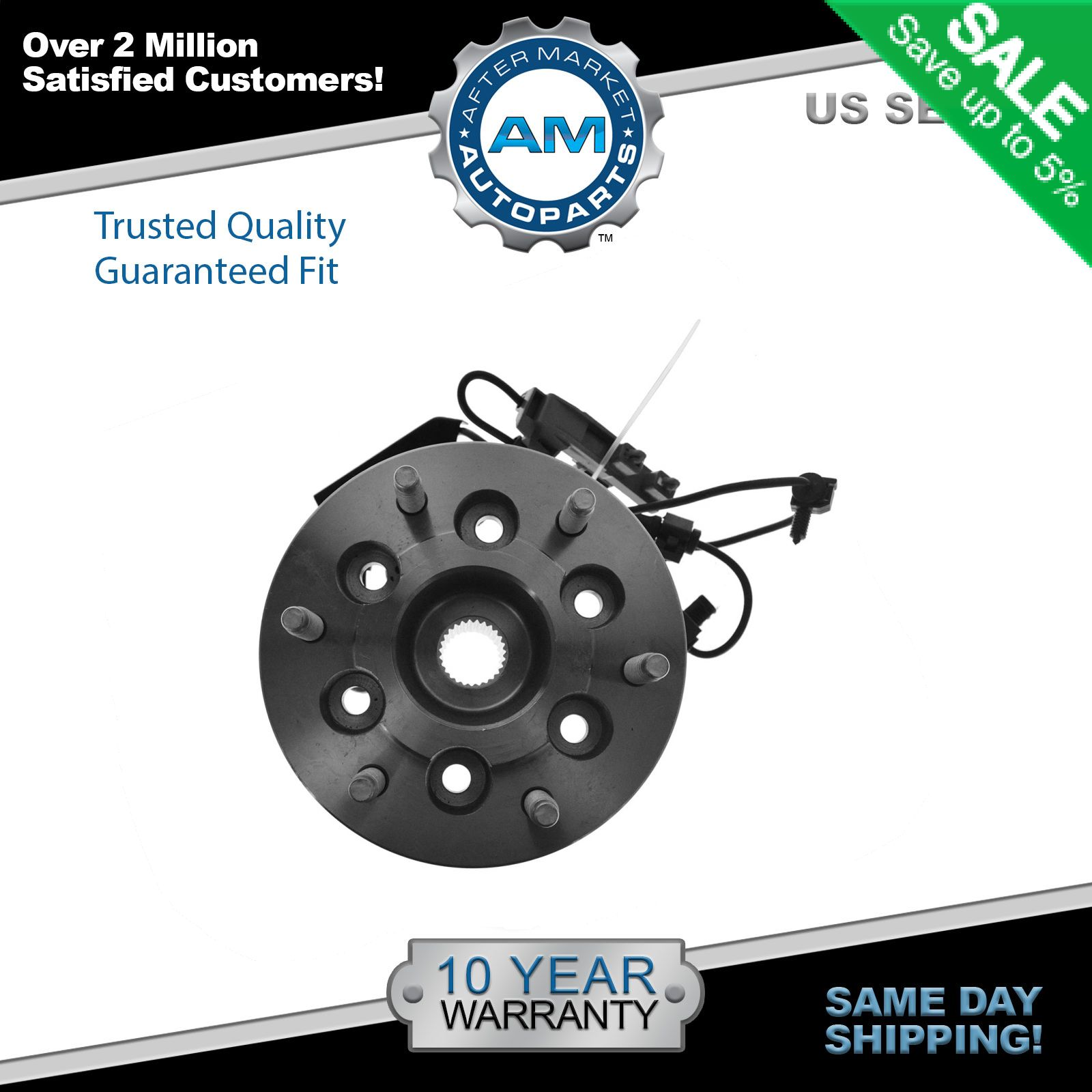 New Wheel Hub and Bearing Assembly Front Right Fits Colorado Canyon 4WD W//ABS