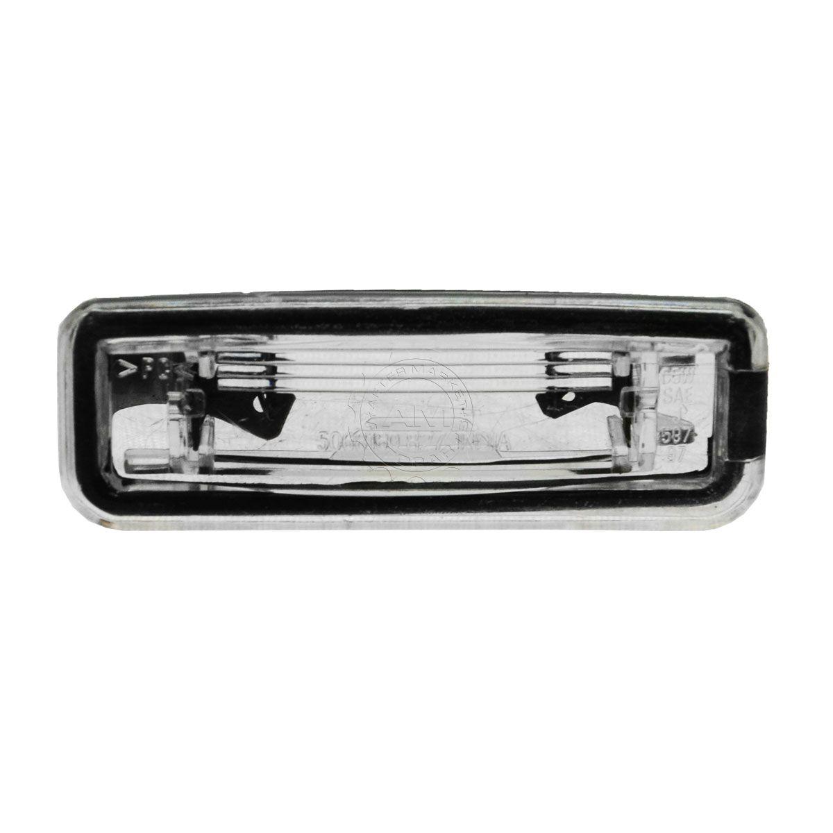 Rear Plate Assy : Dorman rear license plate light lens assembly lamp for