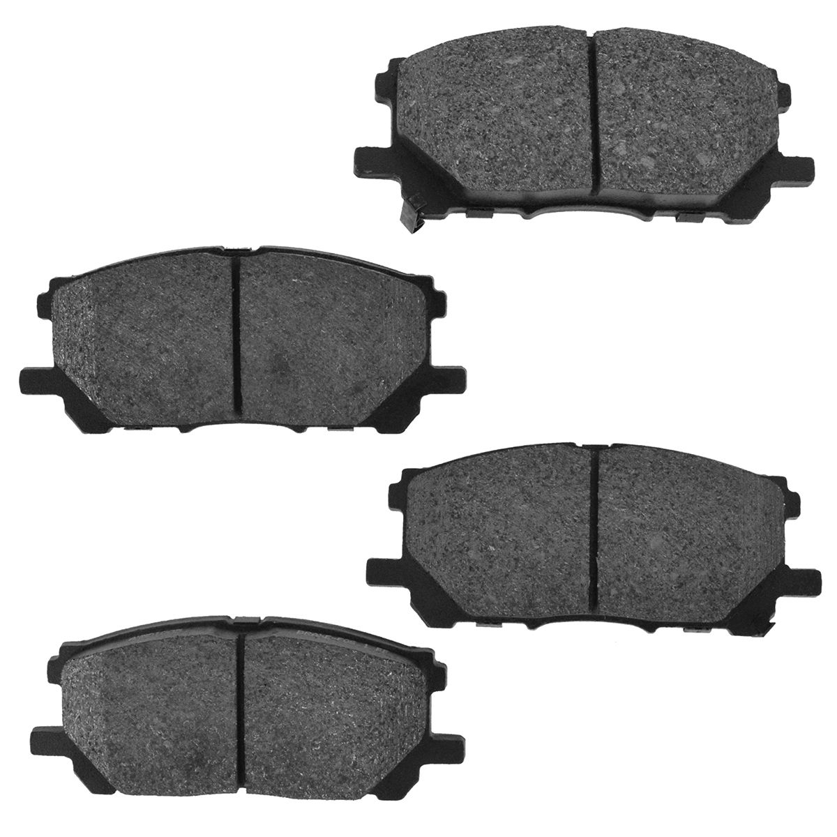 For Lexus,Toyota RX330,RX350,RX400h,Highlander Front Rear Semi-Met Brake Pads