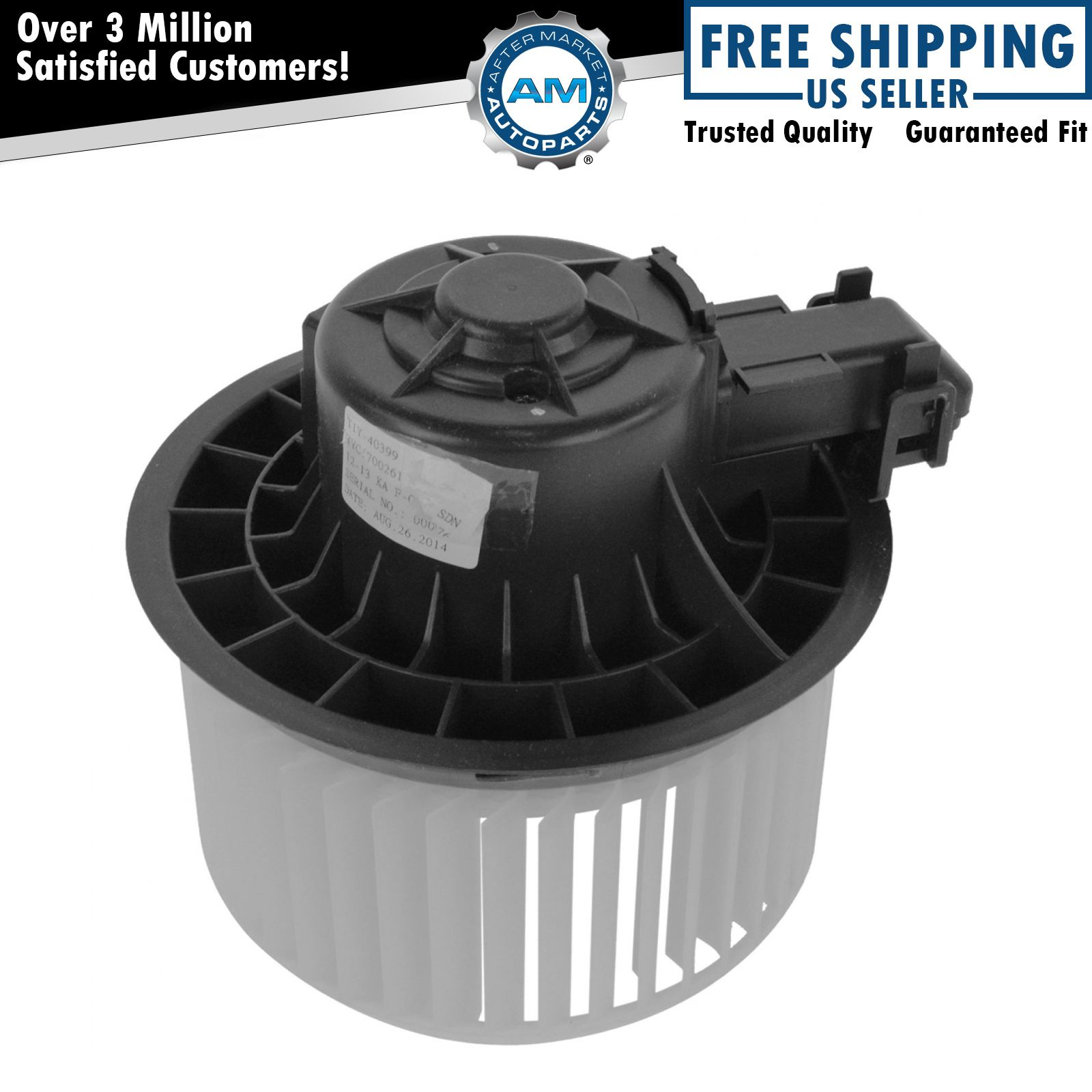 NEW Heater Blower Motor with Fan Cage For Kia Forte 2010-2013 TYC700261LP60-123B