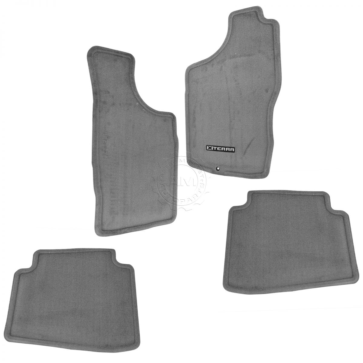 OEM 999E2KP000GY Carpeted Floor Mat Set of 4 Gray for 00-04 Nissan Xterra