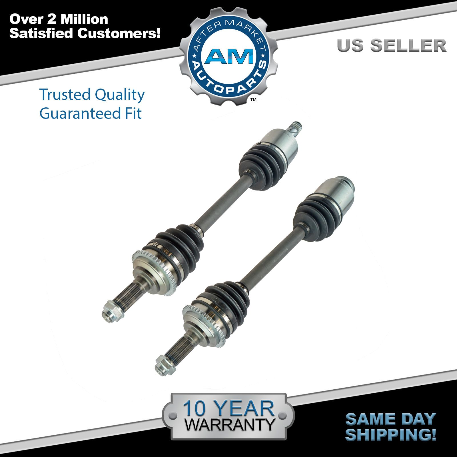Front CV Axle Shaft Assembly Kit Pair Set of 2 for Fusion Milan 6 2.3L New