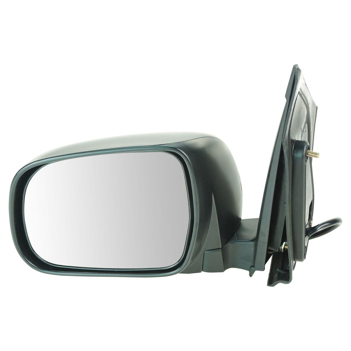 Fits Toyota Sienna 04-10 Van Passengers Side View Power Mirror Glass w// Housing