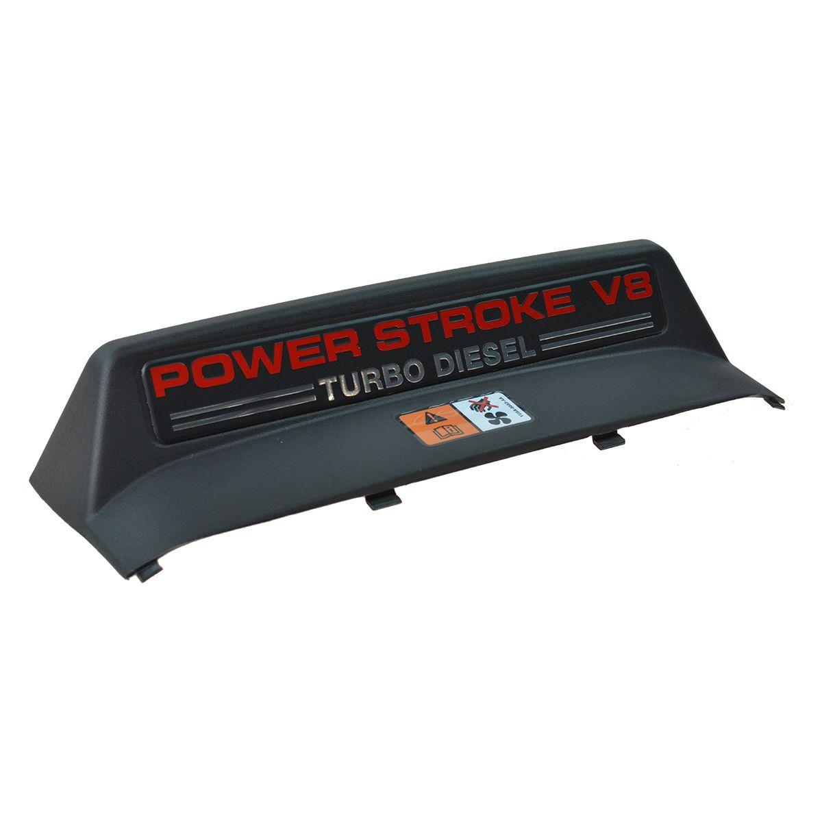 OEM Power Stroke V8 Turbo Diesel Cooling Upper Fan Shroud for Ford Pickup Truck