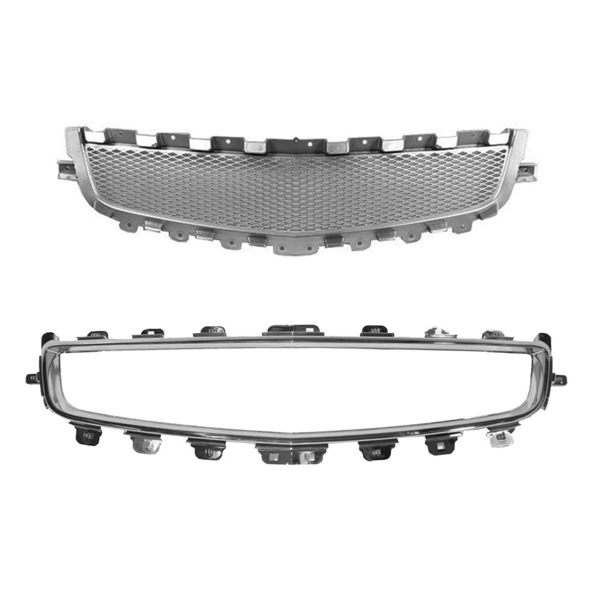 NEW 04-05 GRILLE MOLDING CHROME FOR CHEVROLET MALIBU MAXX GM1210109