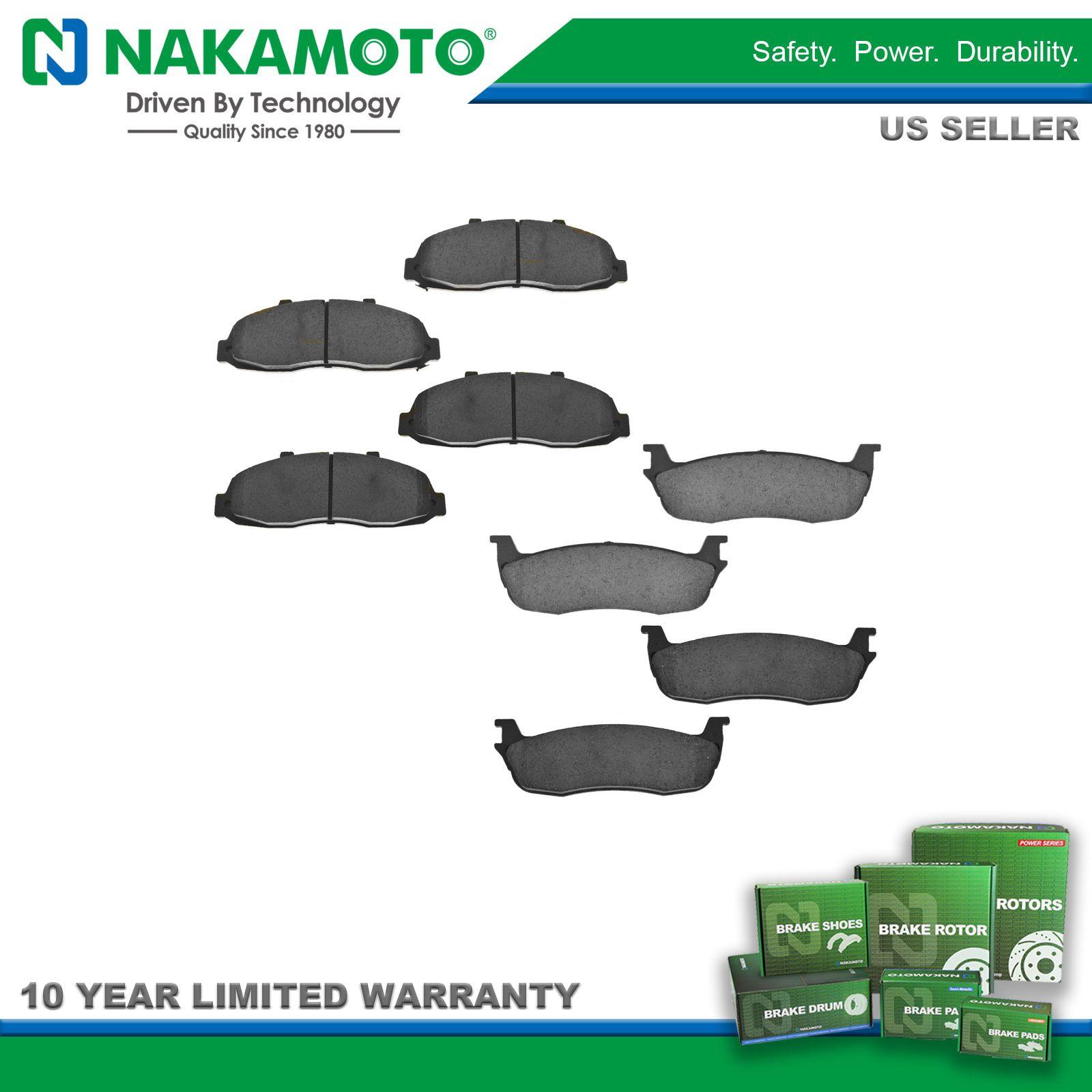 Nakamoto Front Disc Brake Pads Posi Ceramic Set for Ford Lincoln Jaguar New