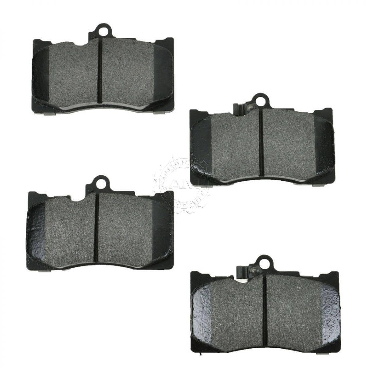 Lexus Brake Pads: Front Metallic Disc Brake Pads Set Kit For Lexus IS Series