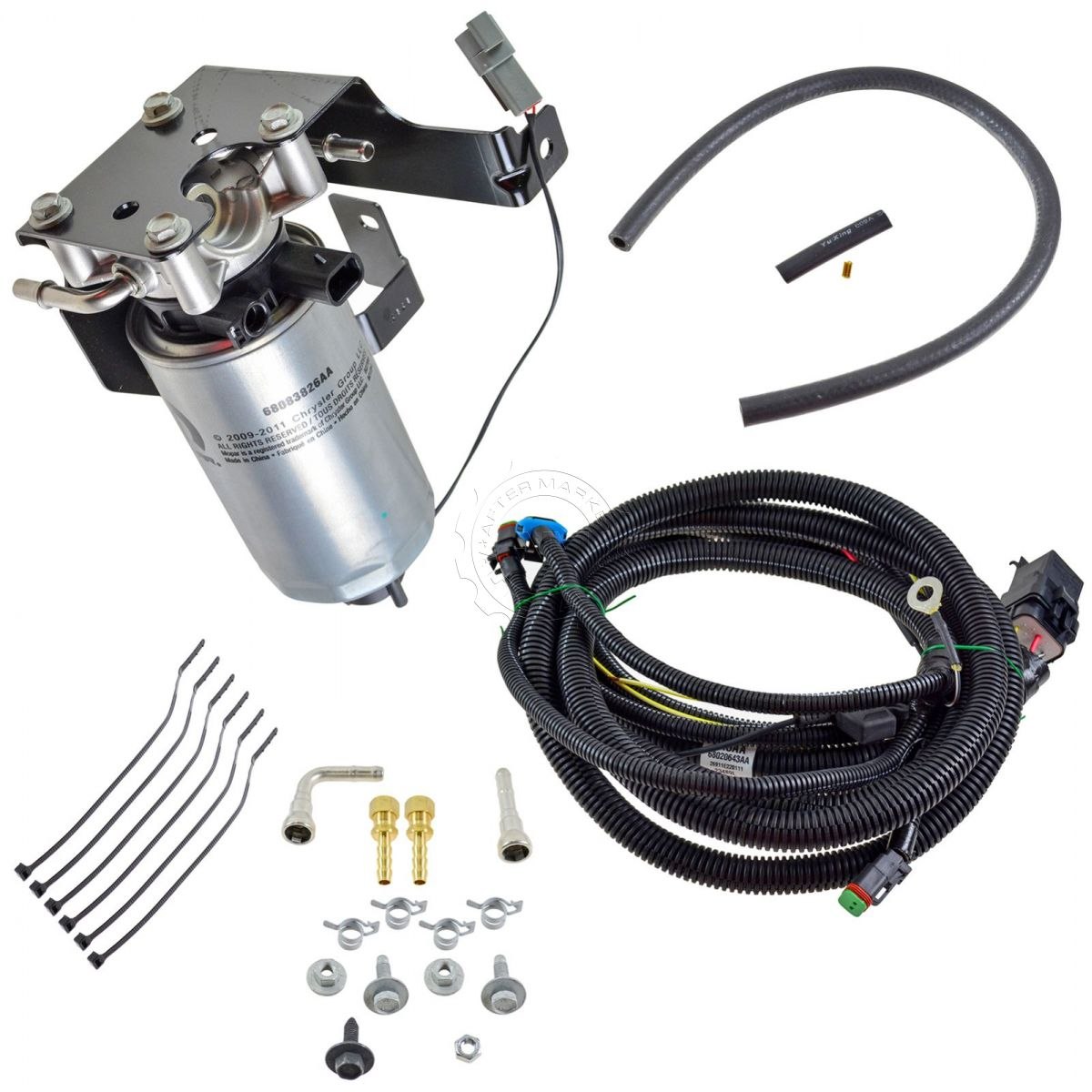 oem severe duty add on fuel filter system kit for dodge. Black Bedroom Furniture Sets. Home Design Ideas